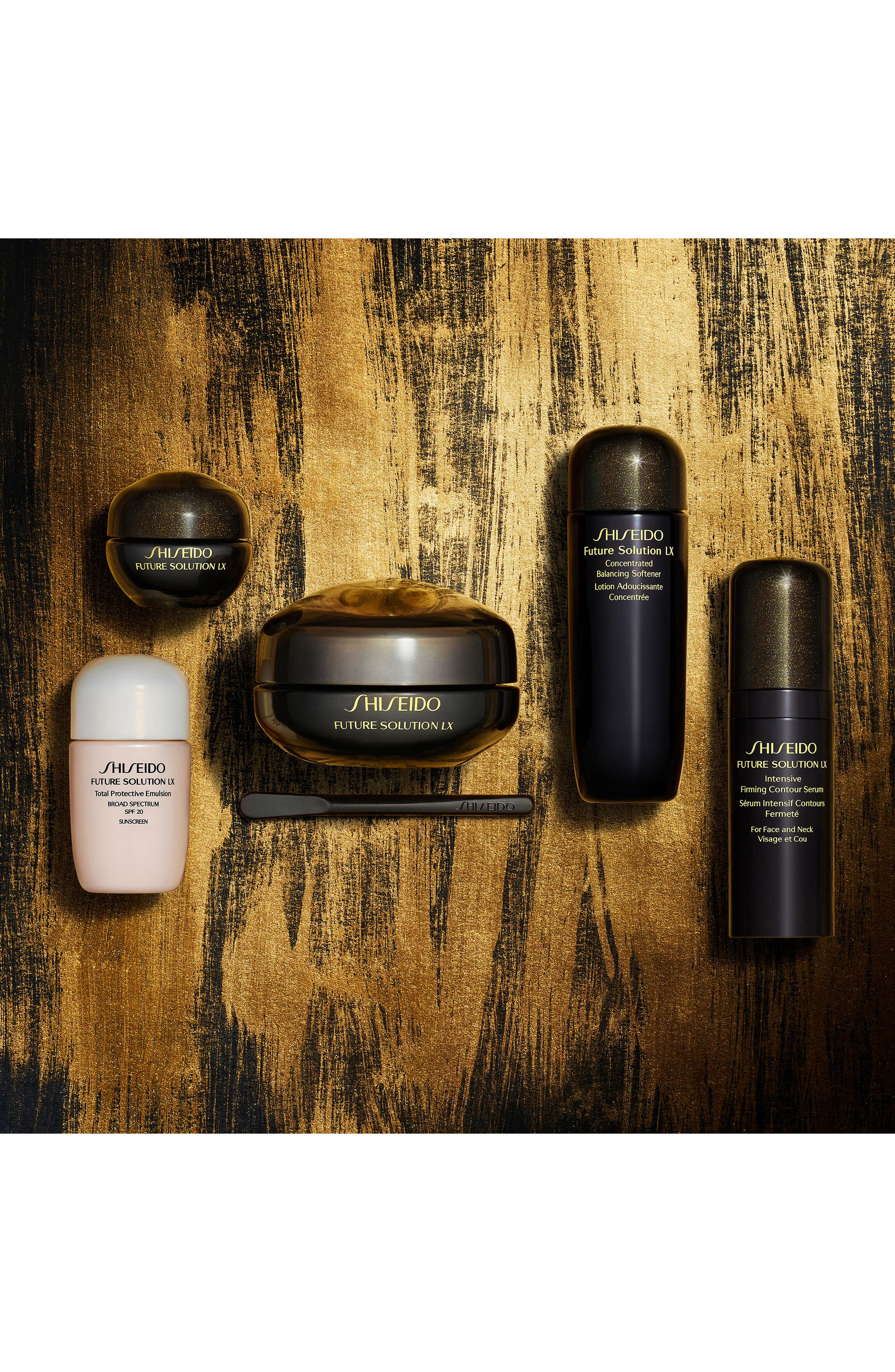 Alternate Image 4  - Shiseido Luxurious Eye & Lip Collection ($305 Value)