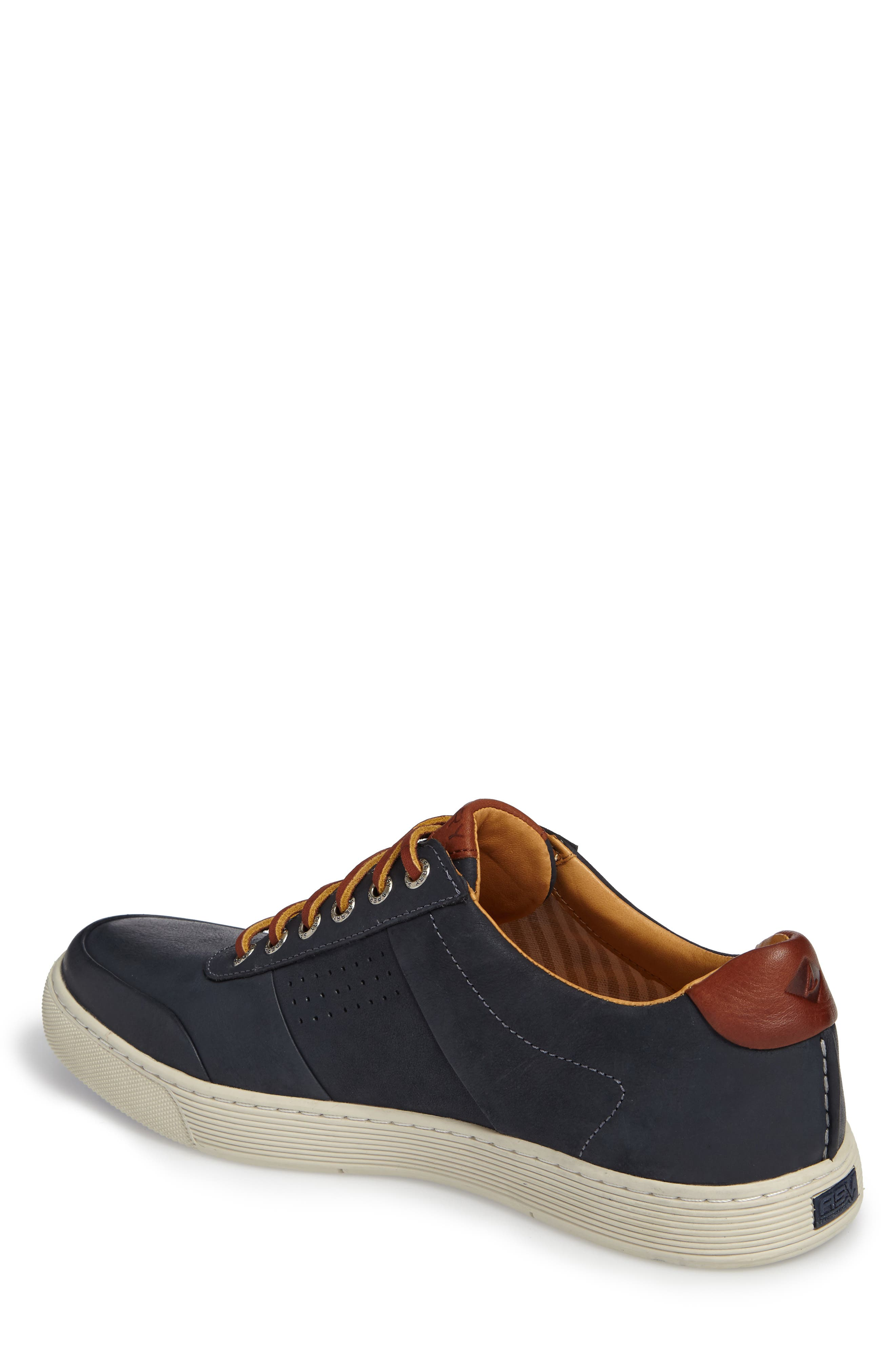 Gold Cup Sport Sneaker,                             Alternate thumbnail 2, color,                             Navy Leather