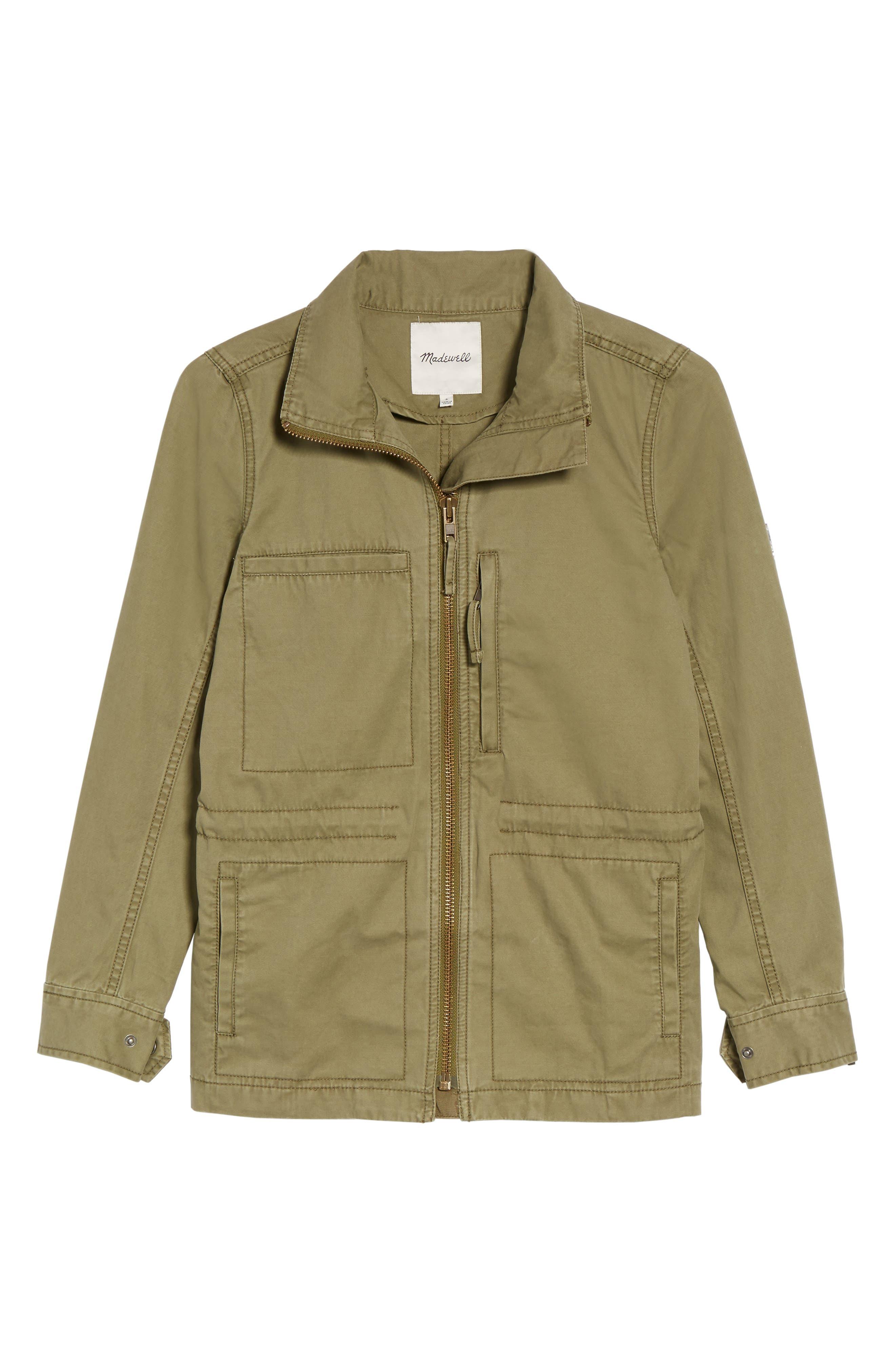 Alternate Image 1 Selected - Madewell Fleet Jacket