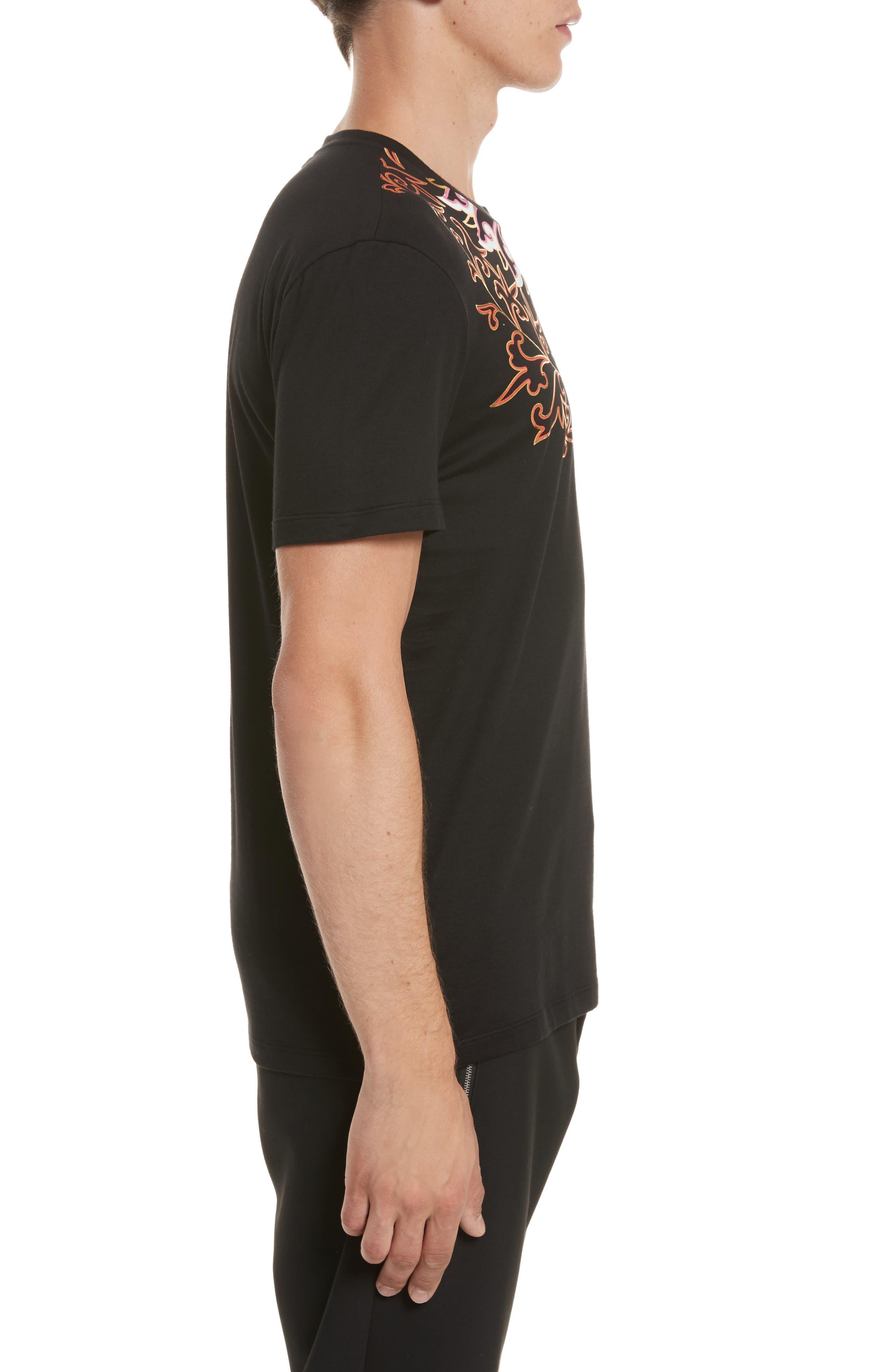 Alternate Image 3  - Versace Collection Baroque Foil Print T-Shirt