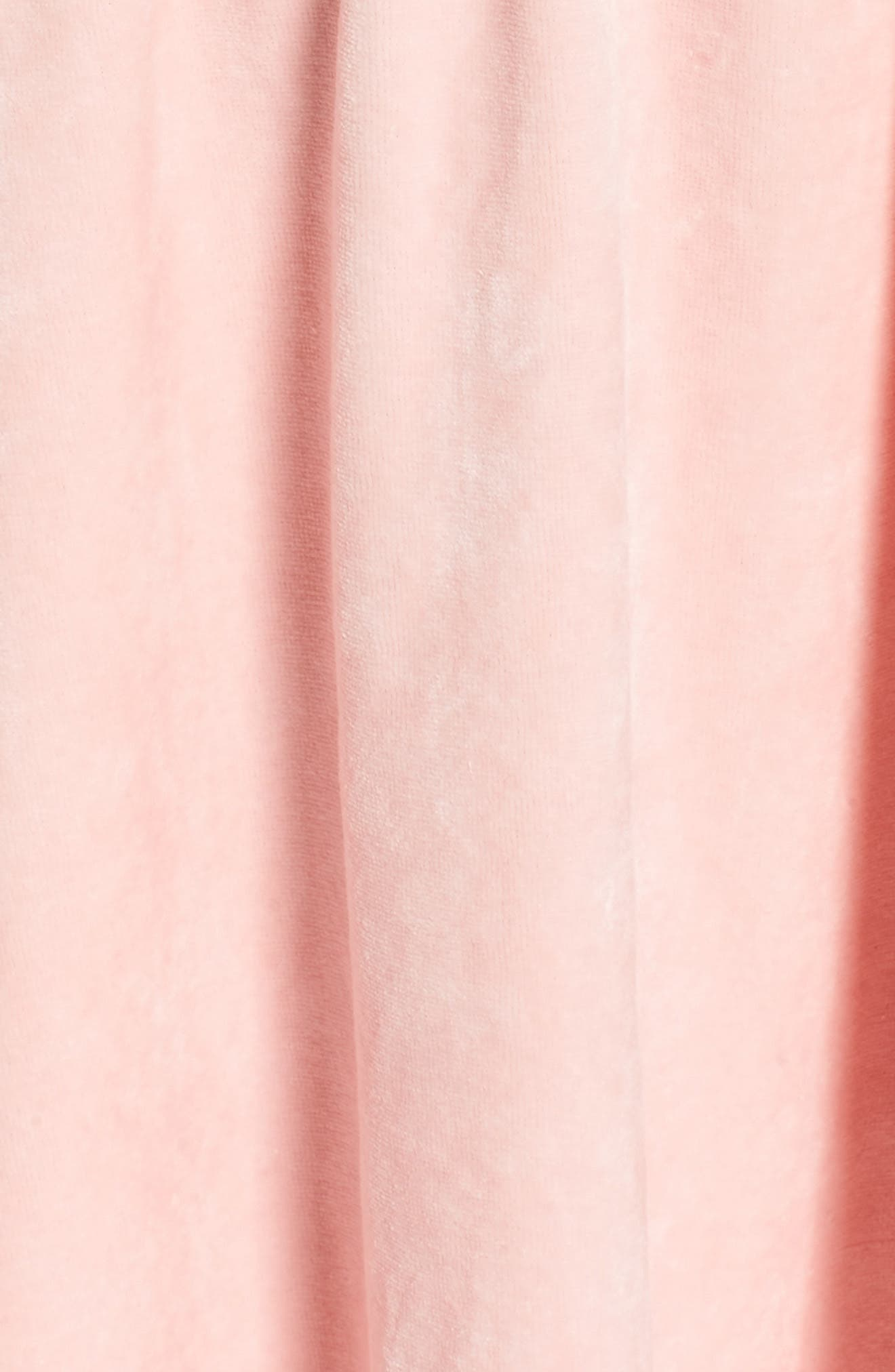 Alternate Image 5  - Juicy Couture Track Off the Shoulder Velour Dress