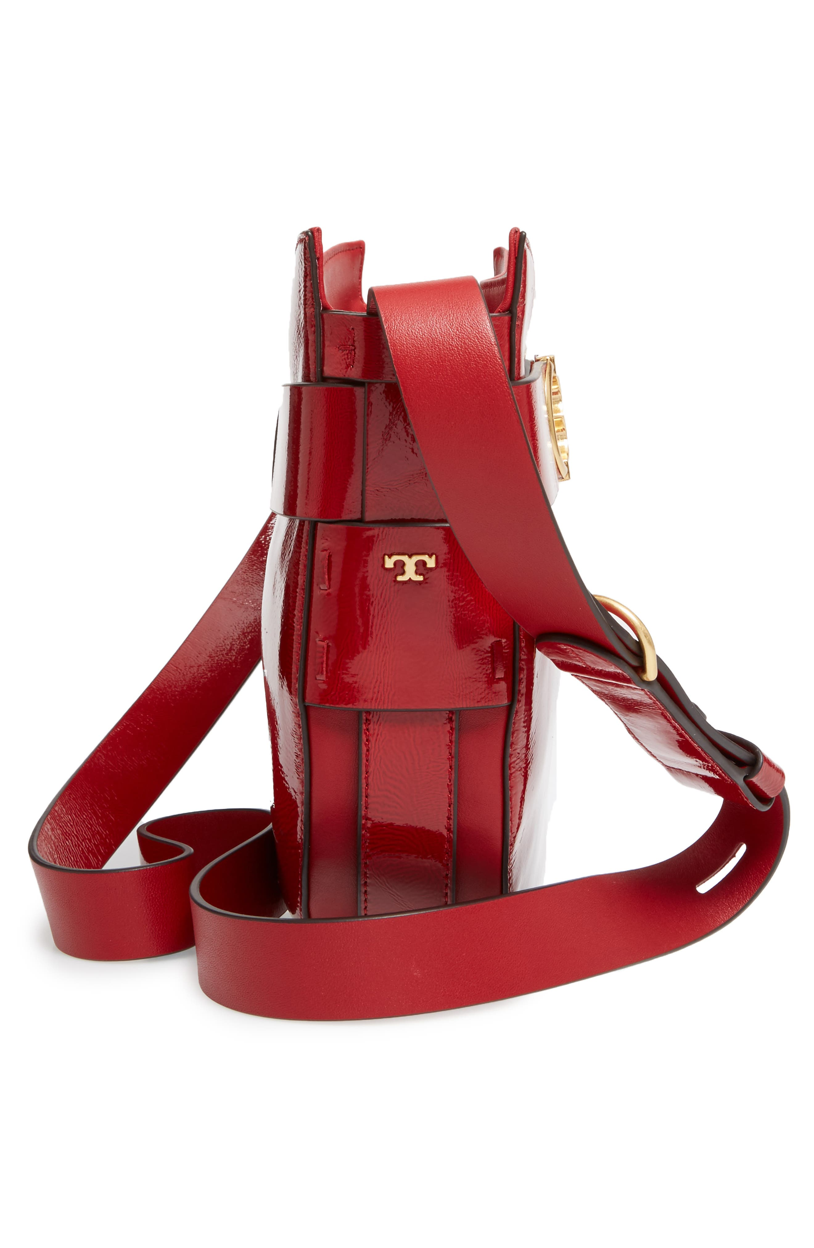 Alternate Image 4  - Tory Burch Gemini Link Patent Leather Crossbody Bag