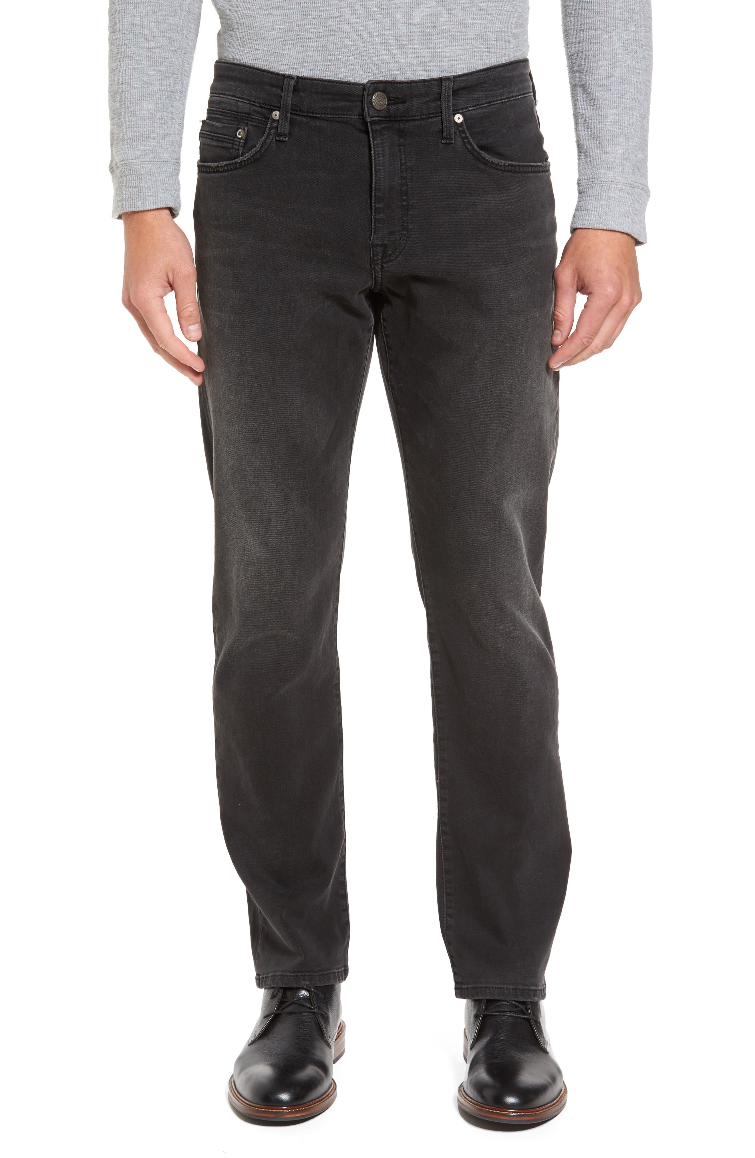 Mavi Jeans Matt Relaxed Fit Jeans (Grey Williamsburg) (Tall)