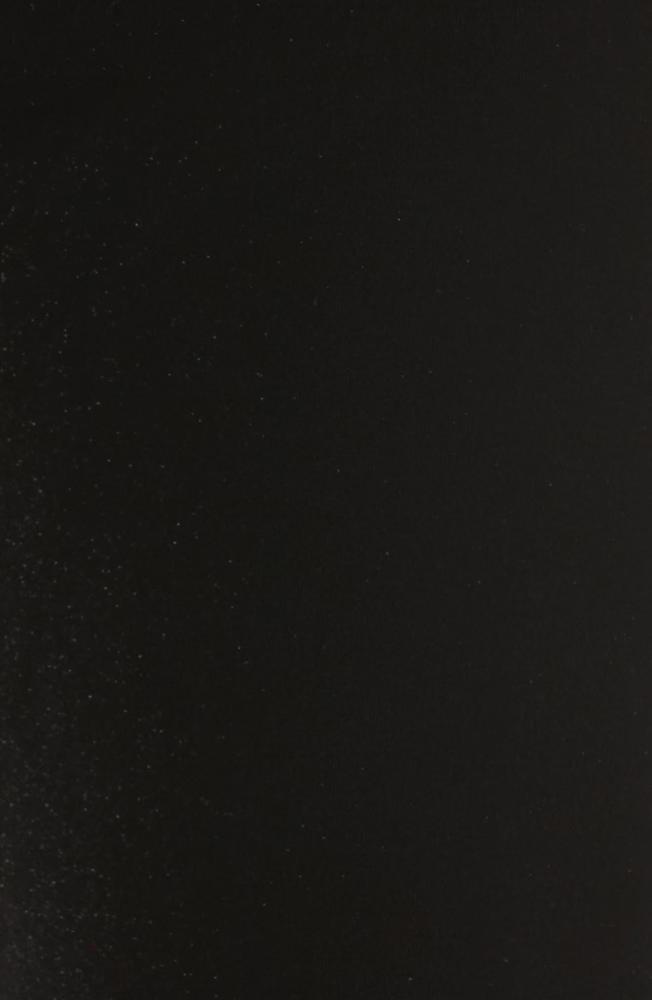 Velvet Leggings,                             Alternate thumbnail 5, color,                             Black