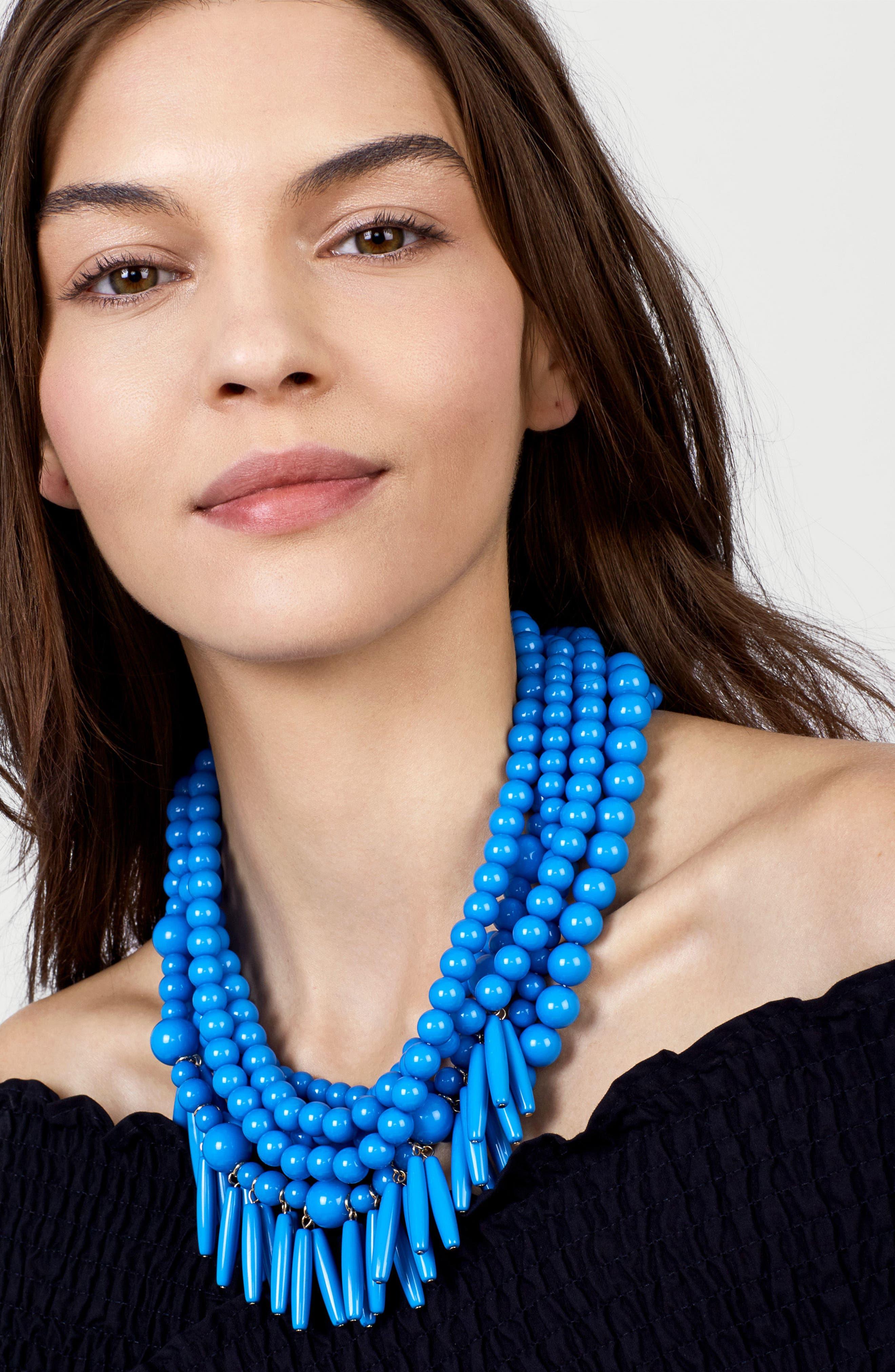 Alternate Image 2  - BaubleBar Malibu Beaded Necklace