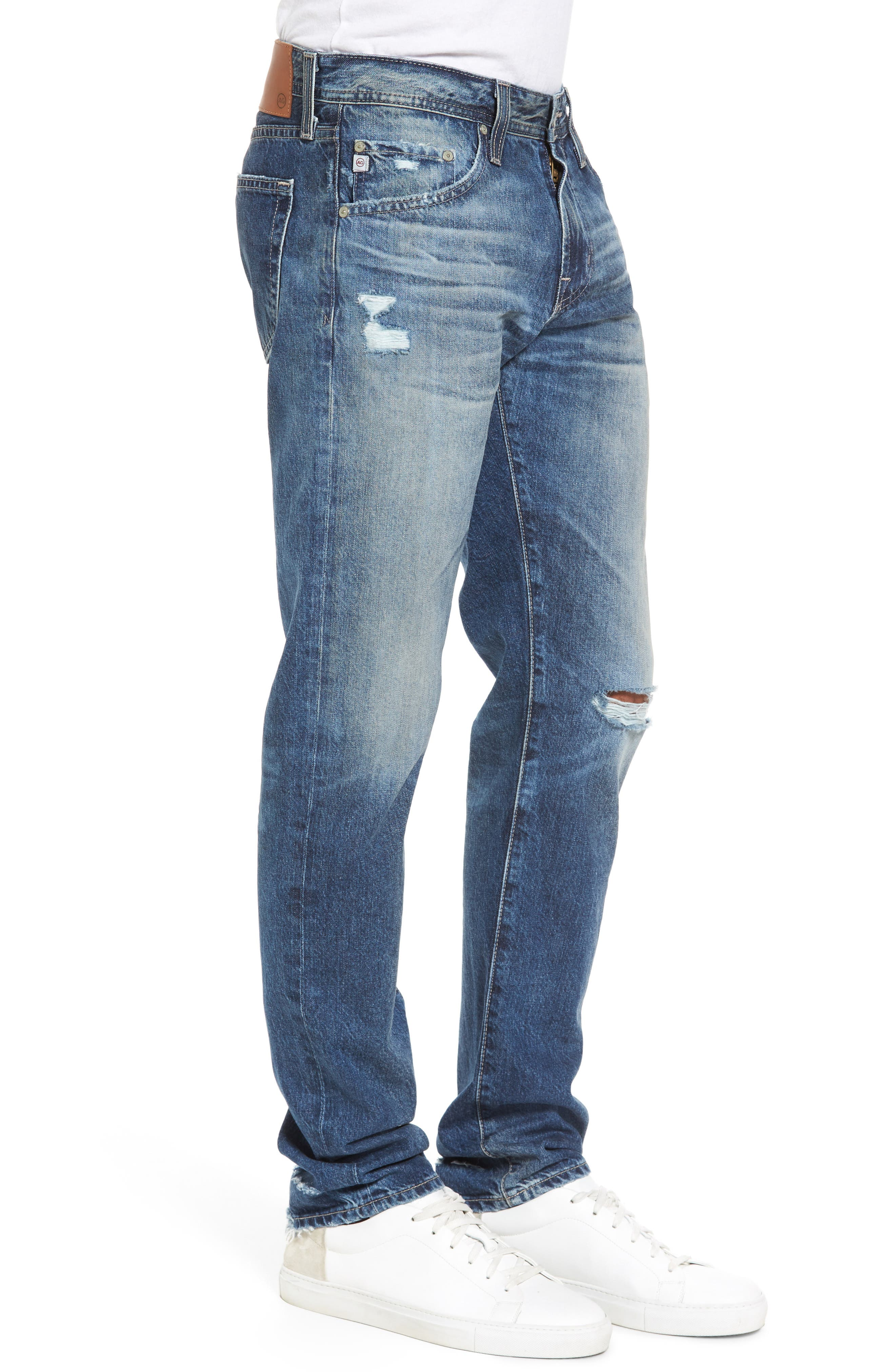 Tellis Slim Fit Jeans,                             Alternate thumbnail 3, color,                             20 Years Grunge