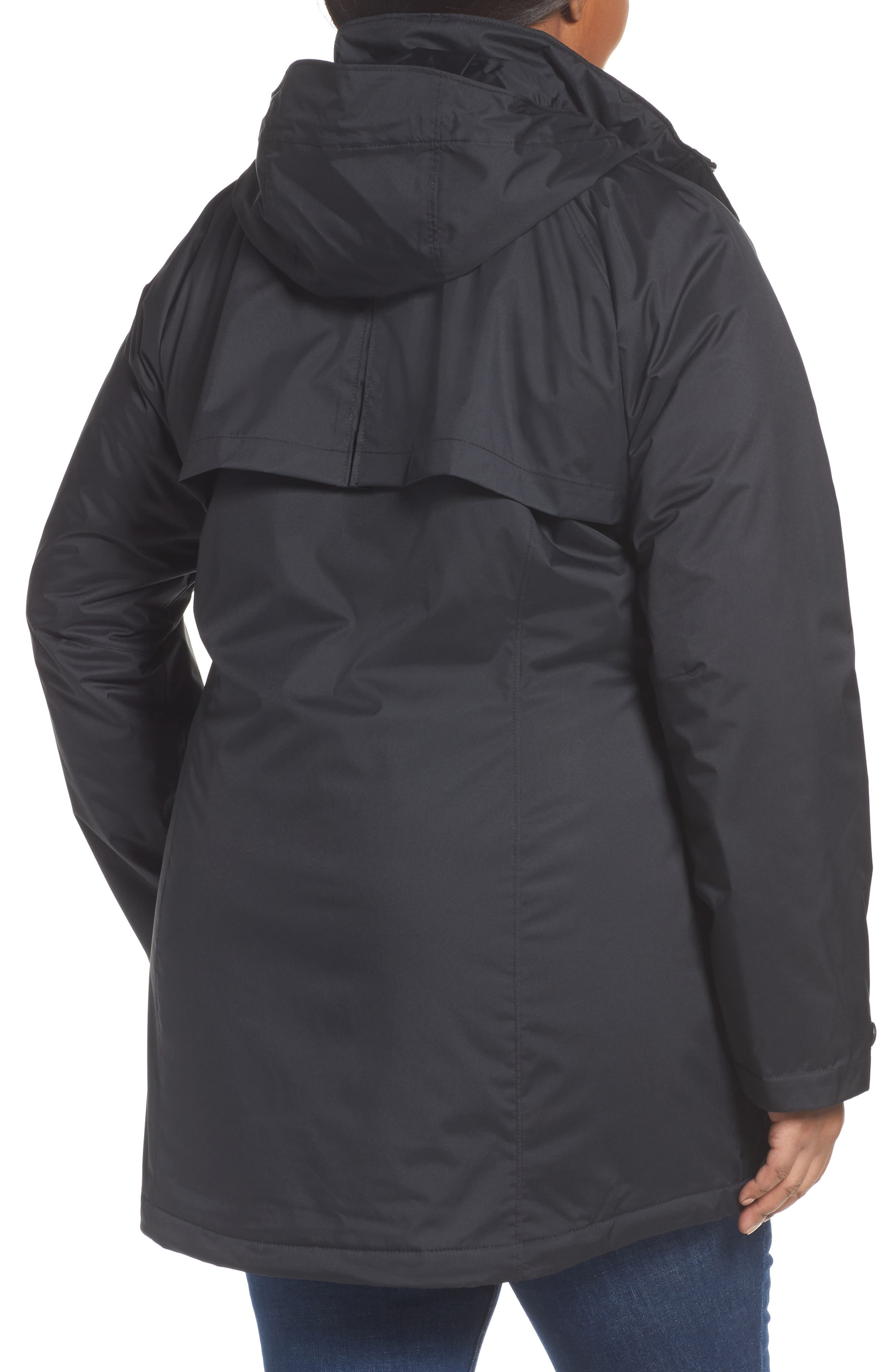 Alternate Image 2  - Columbia Lookout Crest Omni-Tech Waterproof Jacket (Plus Size)