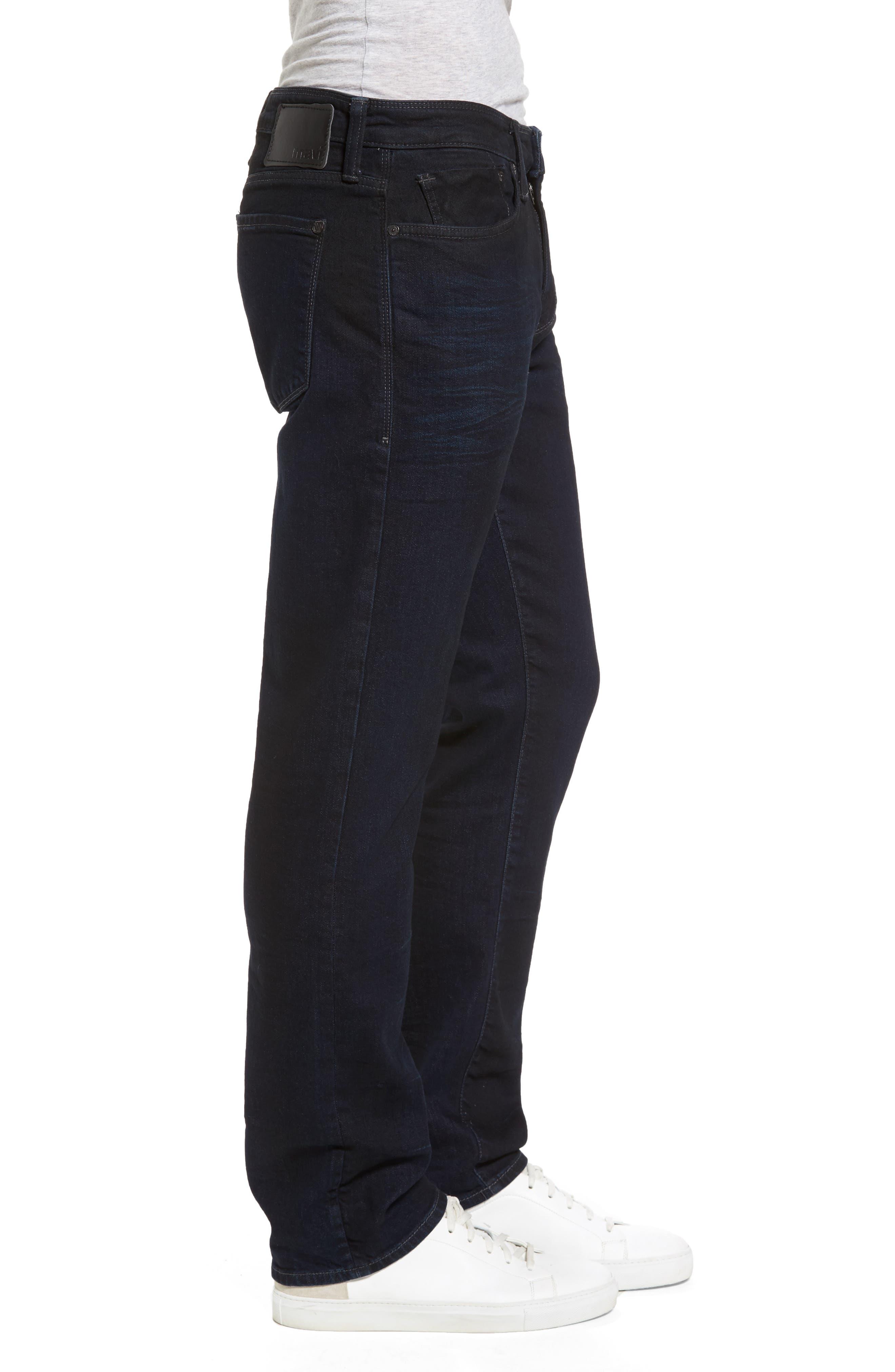 Alternate Image 3  - Mavi Jeans Zach Straight Leg Jeans (Coated Authentic Vintage)