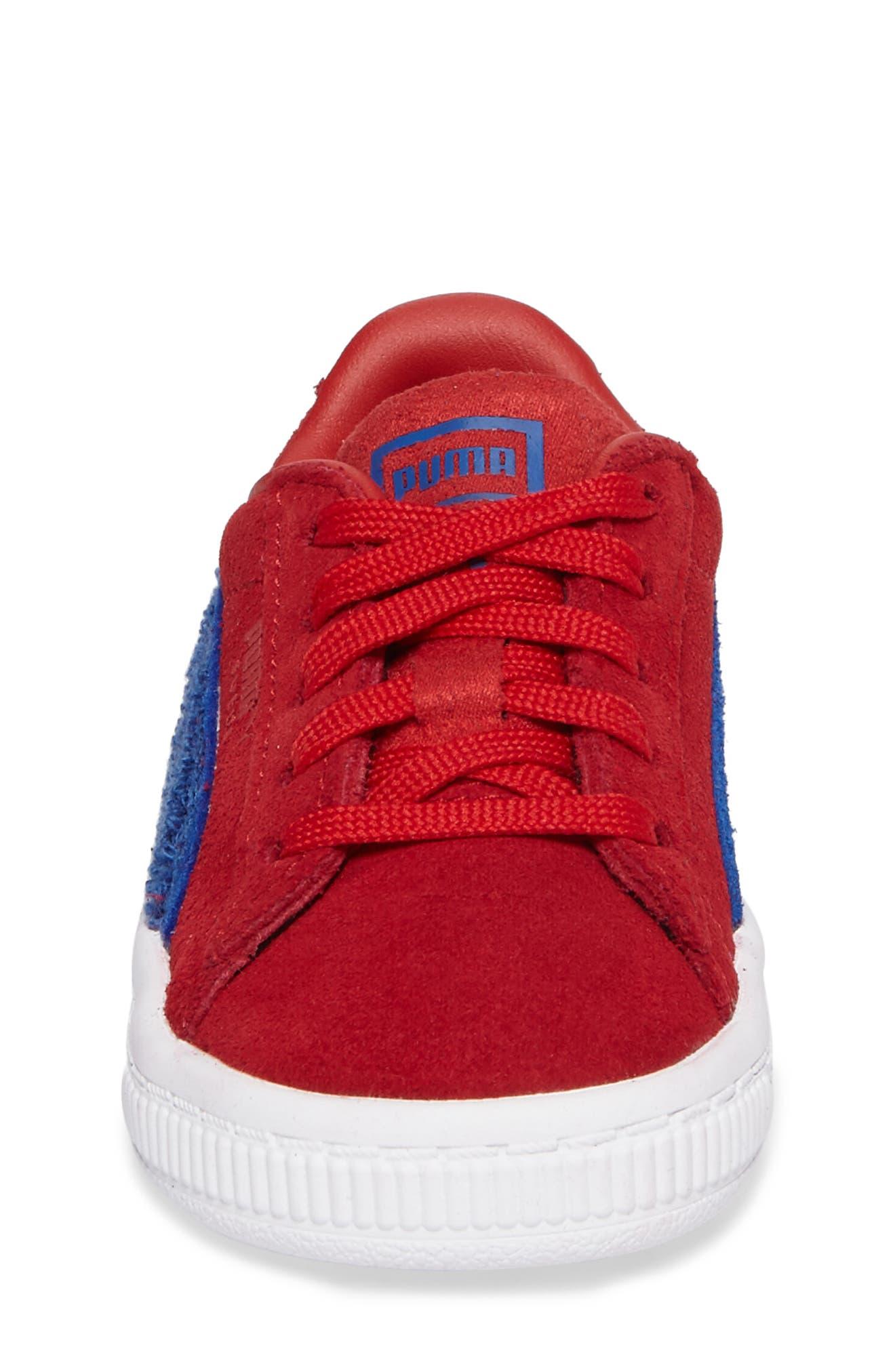 Alternate Image 4  - PUMA Classic Terry Sneaker (Baby, Walker & Toddler)