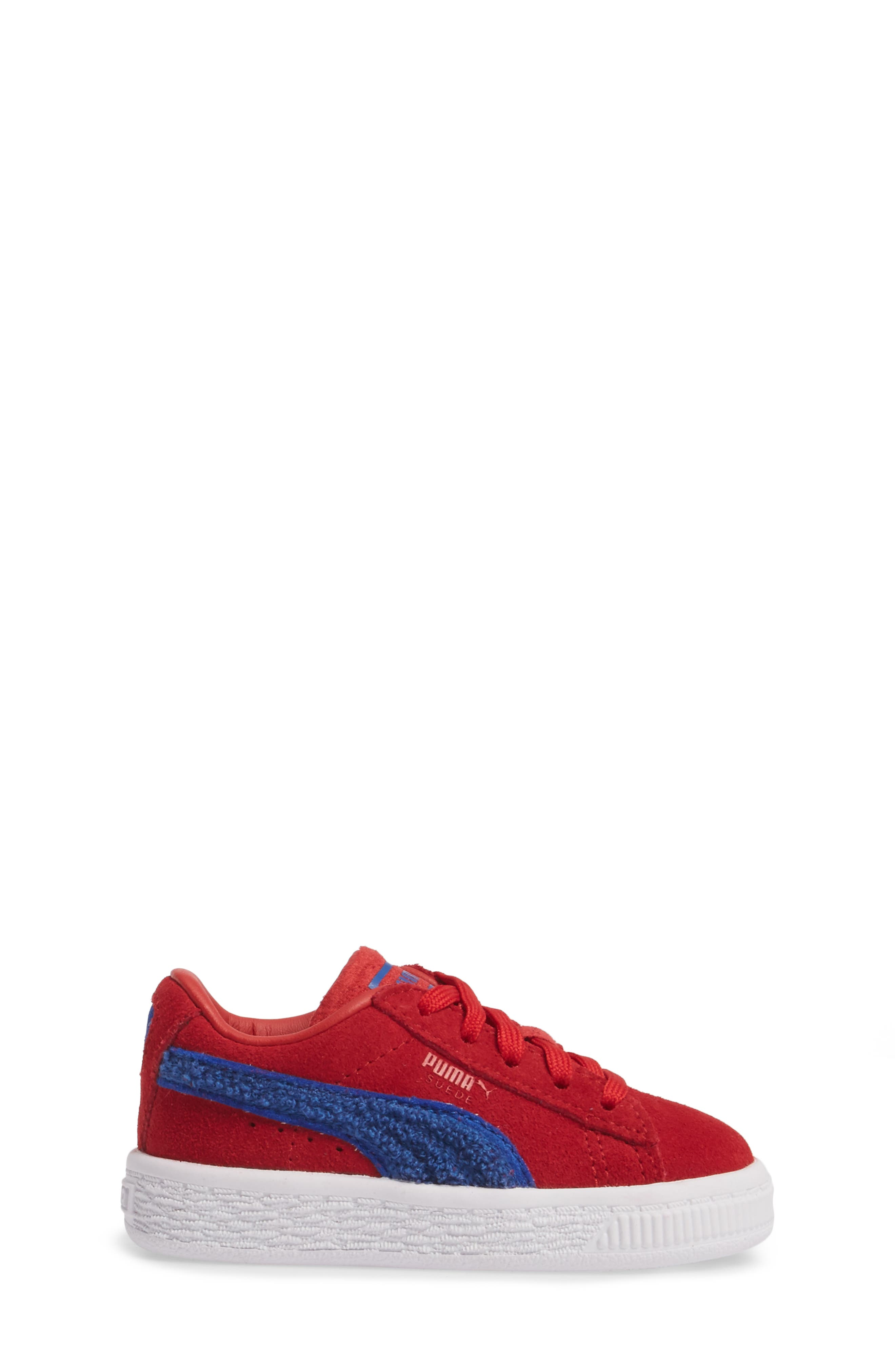 Classic Terry Sneaker,                             Alternate thumbnail 3, color,                             Red