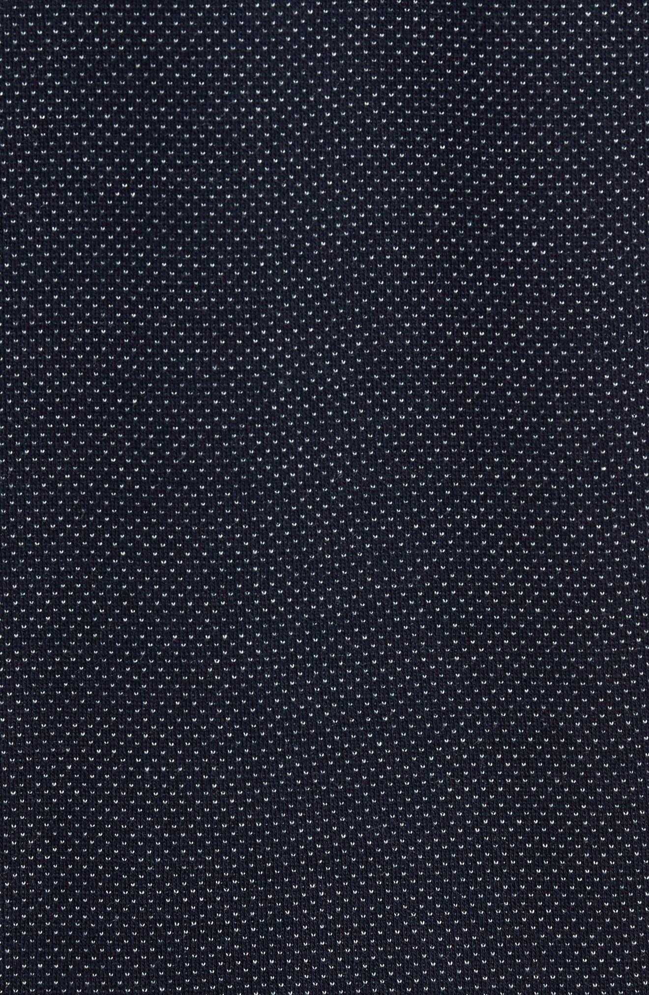 Alburt Modern Slim Fit Polo,                             Alternate thumbnail 6, color,                             Navy