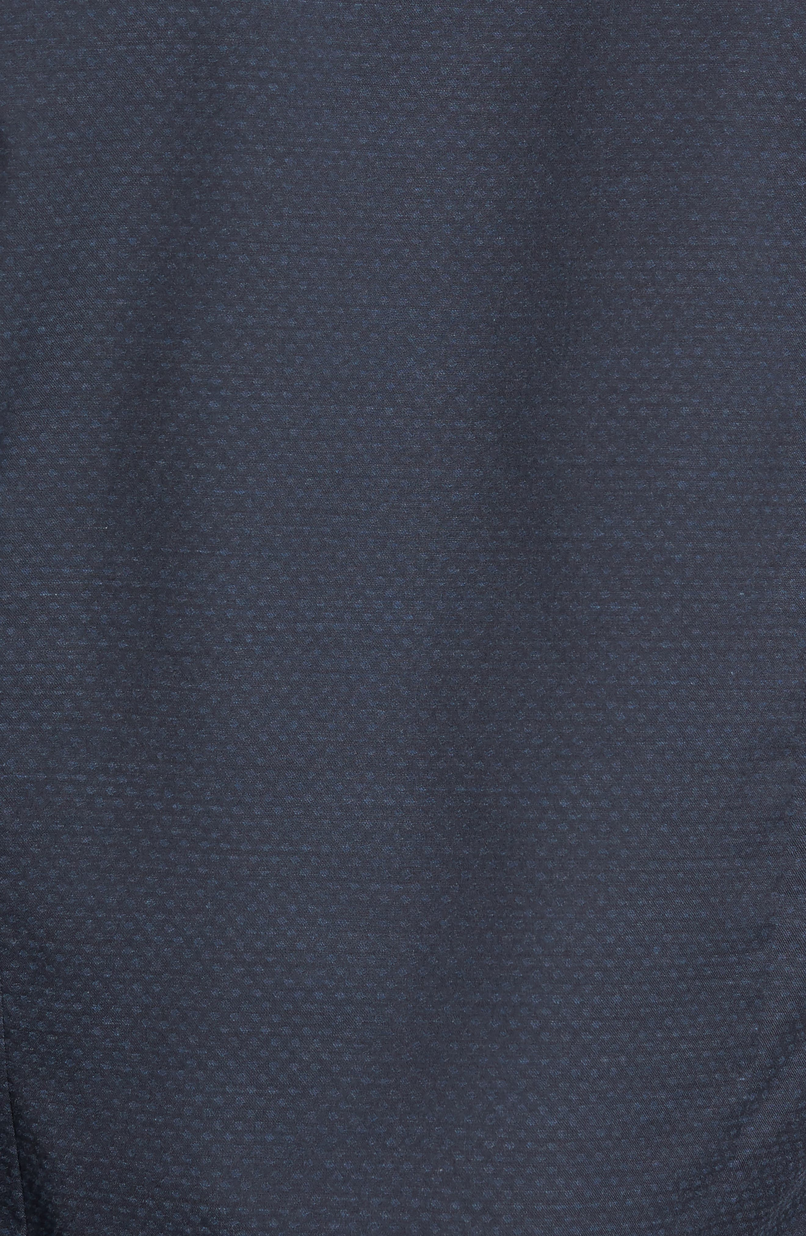 Alternate Image 5  - Culturata Trim Fit Print Sport Shirt
