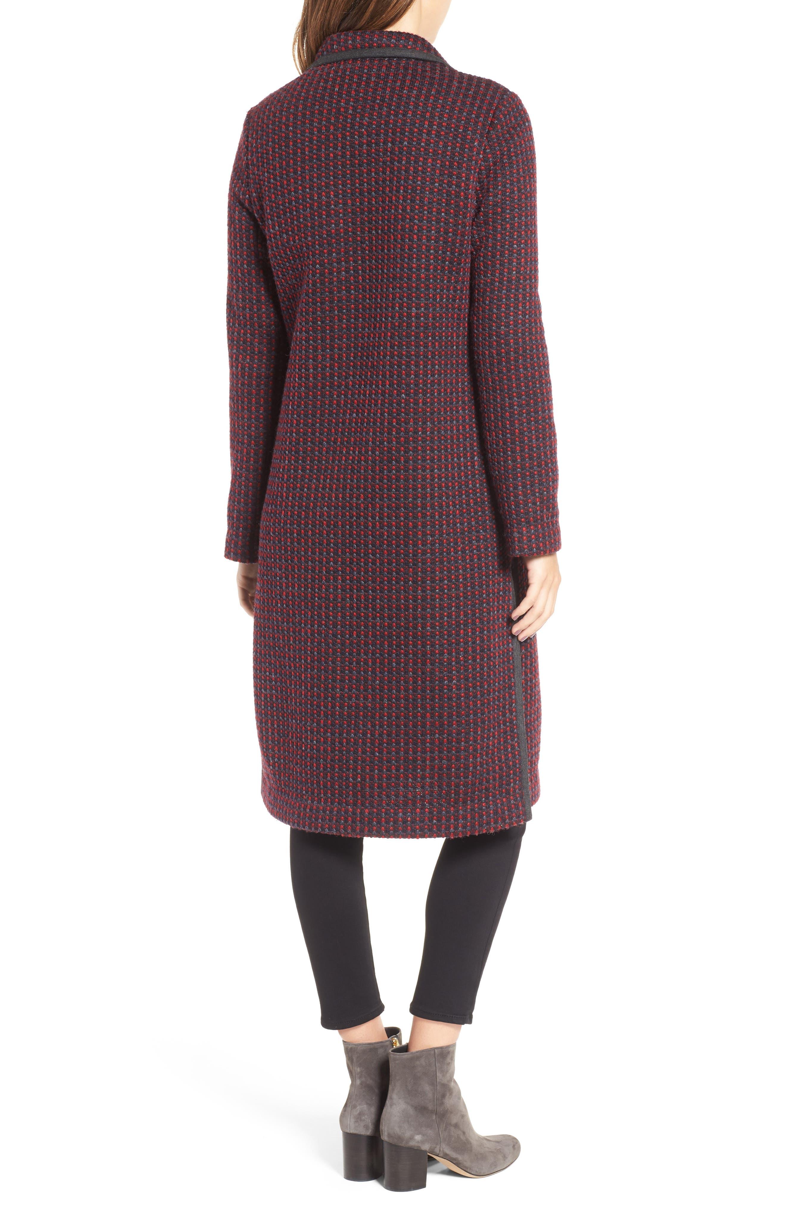 Alternate Image 4  - Diane Von Furstenberg Tweed Coat