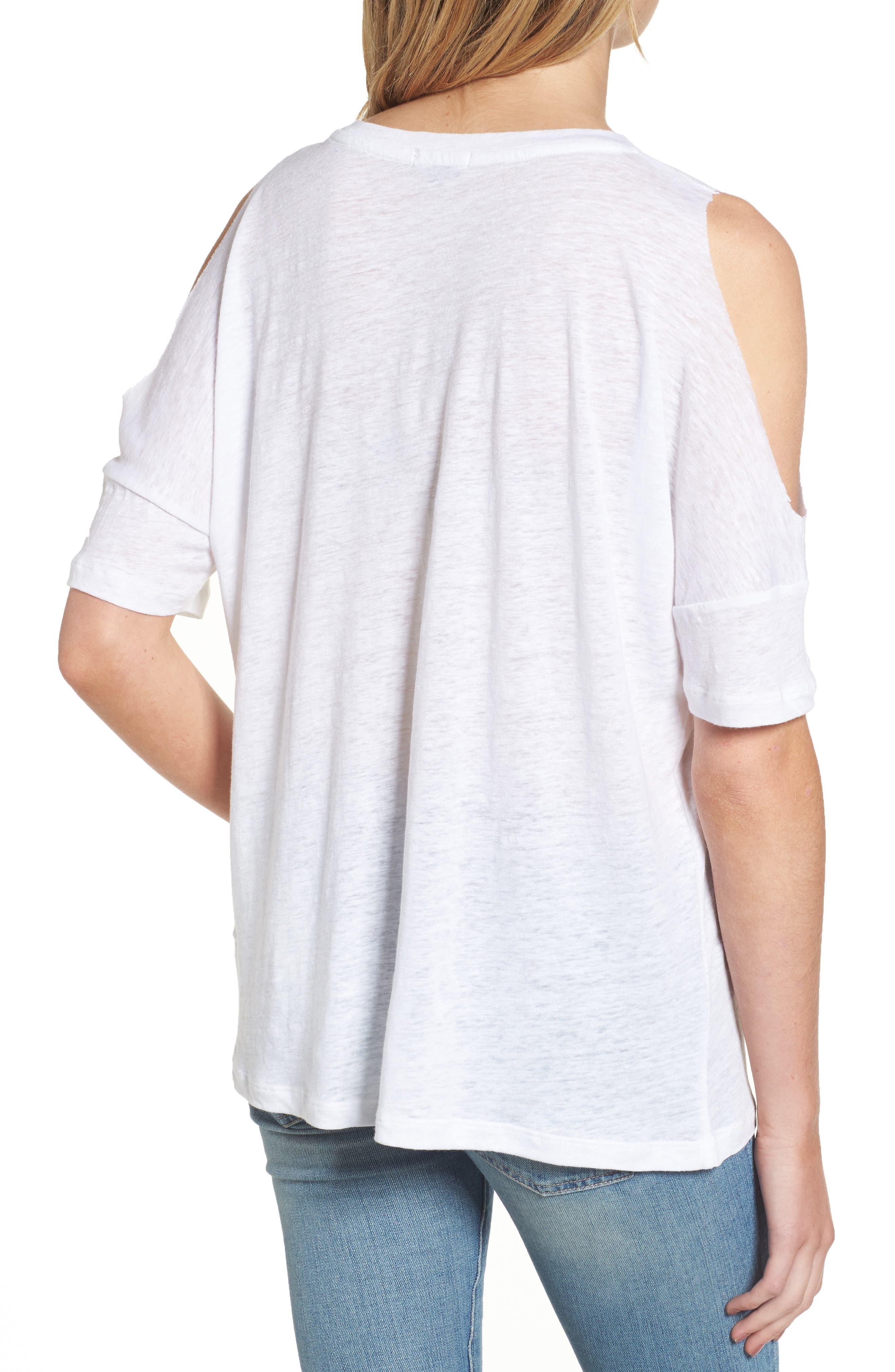 Alternate Image 2  - Rails Ricki Cold Shoulder Tee