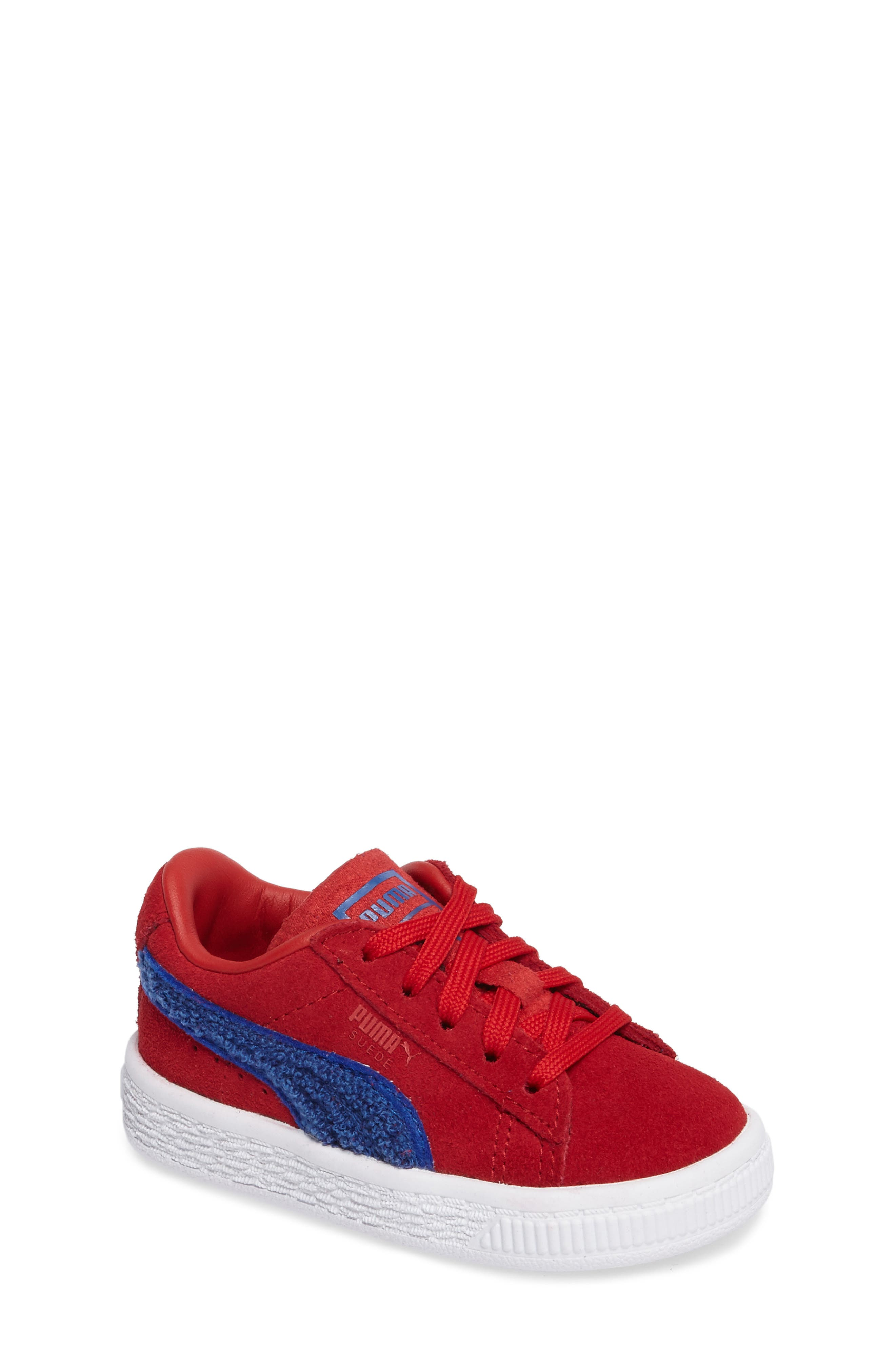 Alternate Image 1 Selected - PUMA Classic Terry Sneaker (Baby, Walker & Toddler)