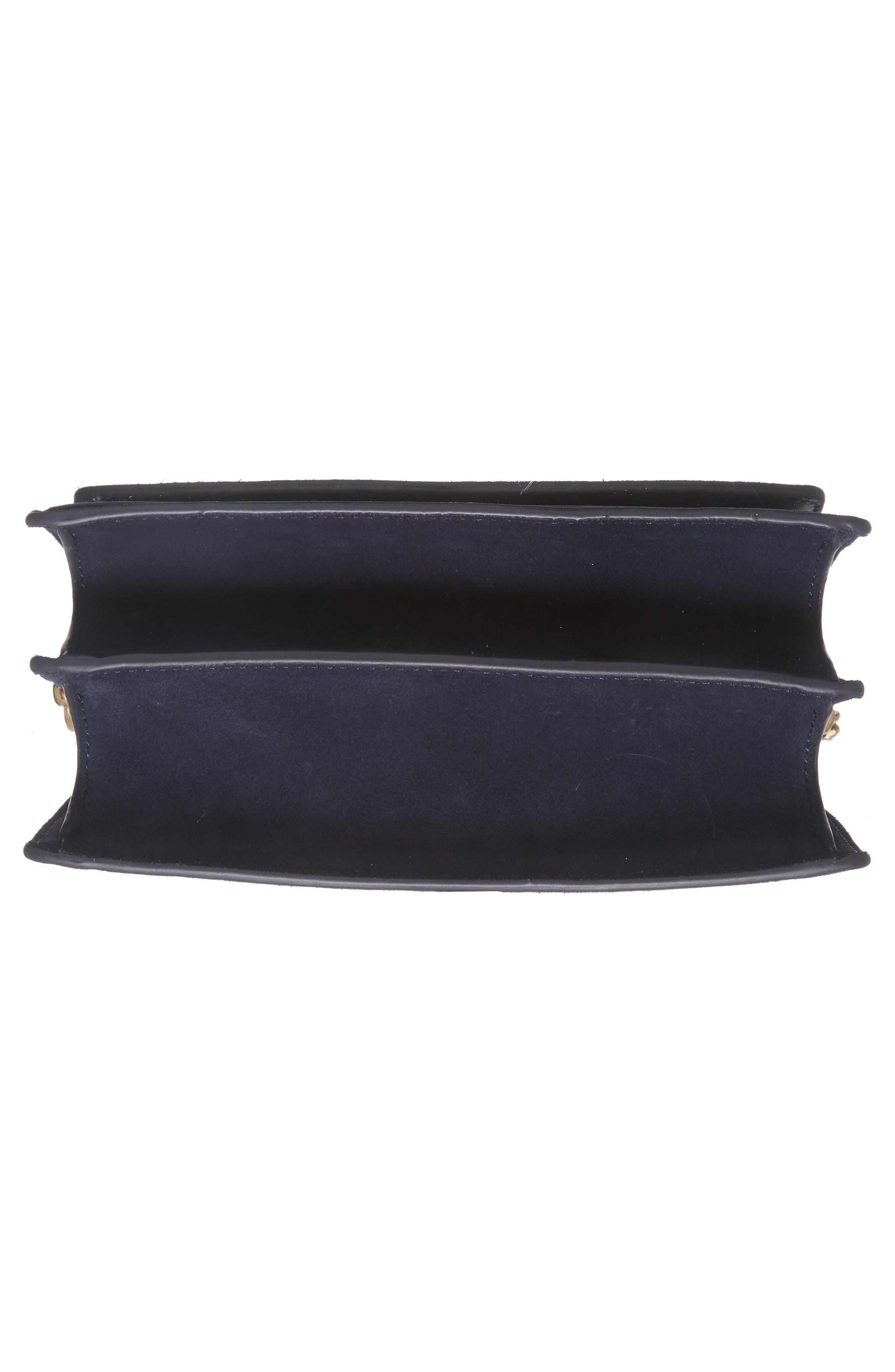 Alternate Image 5  - Tory Burch Parker Flower Embroidered Leather Shoulder/Crossbody Bag