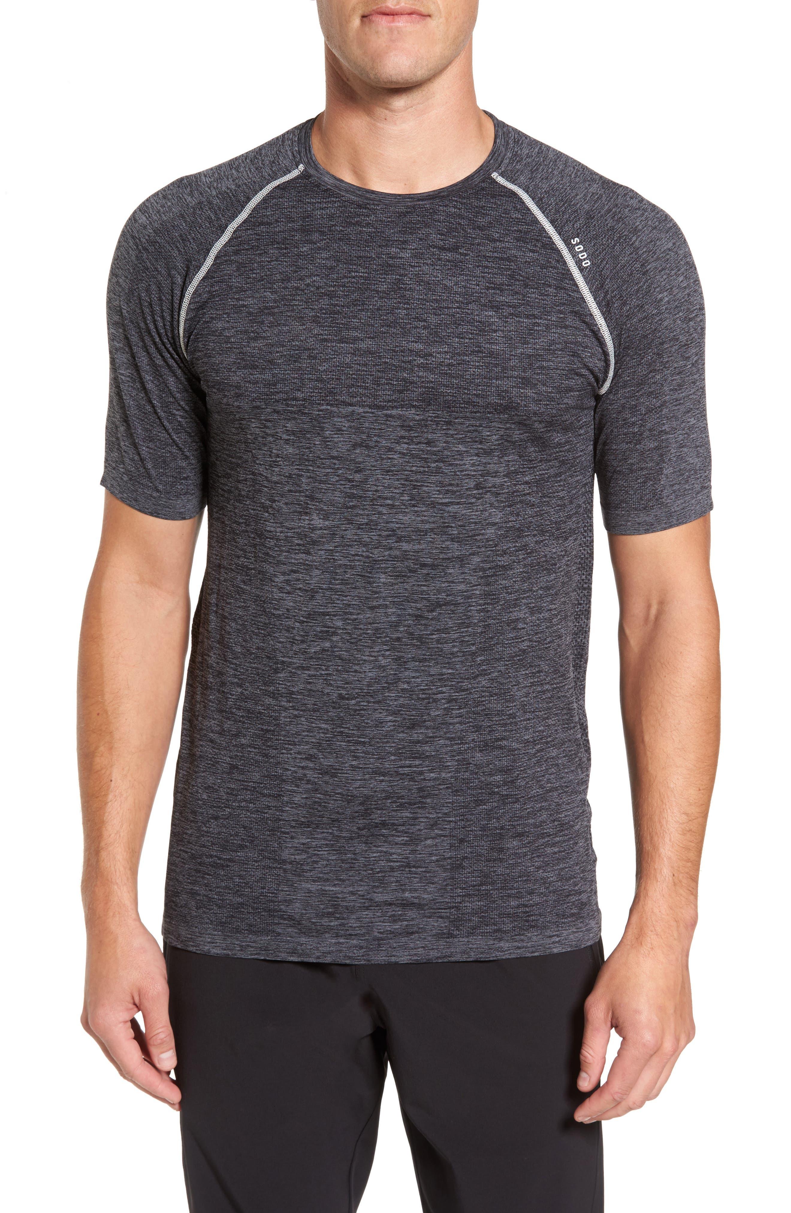Main Image - SODO Seamless Crewneck Performance T-Shirt