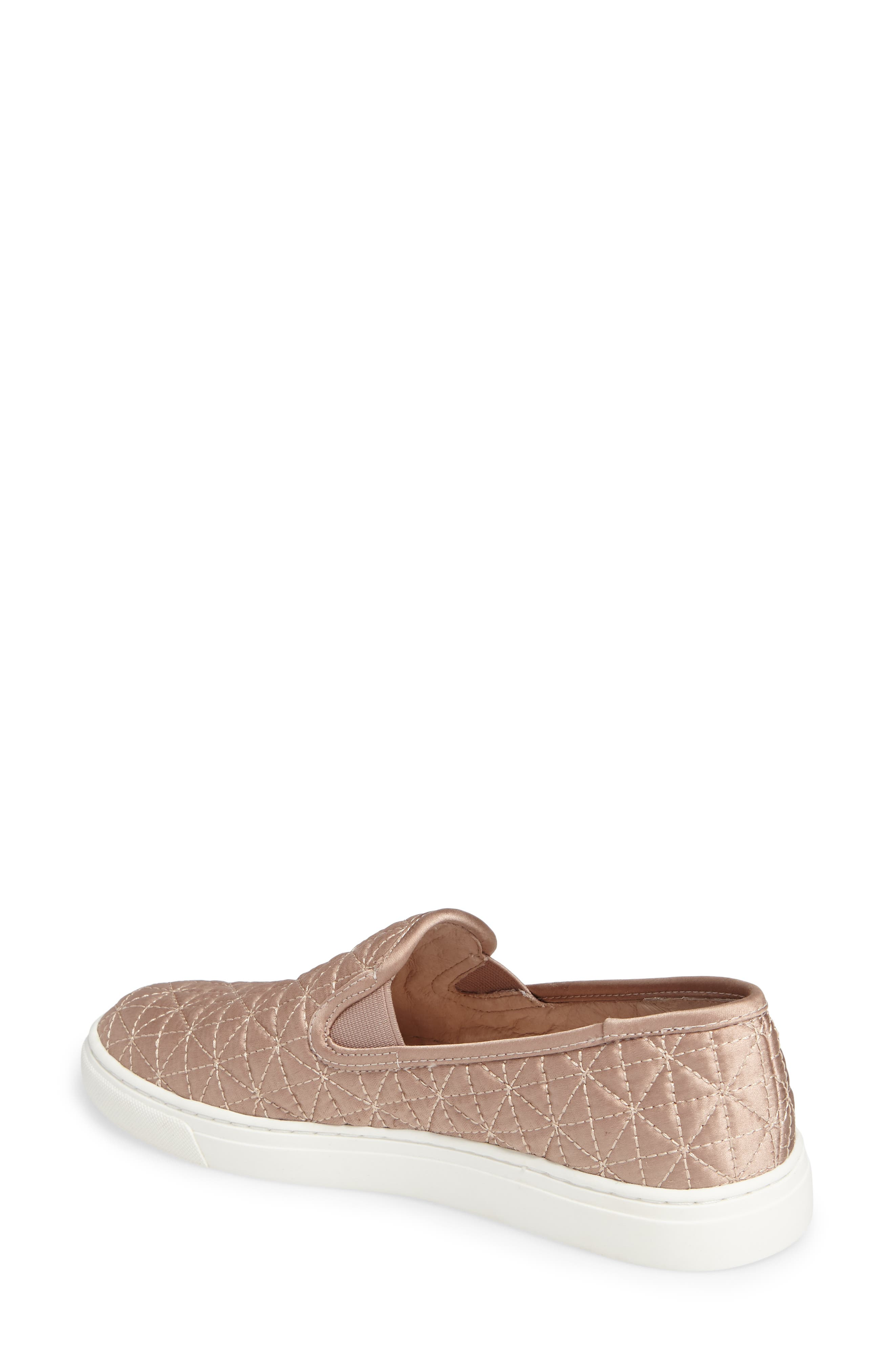 Alternate Image 2  - Vince Camuto Billena Quilted Slip-On Sneaker (Women)