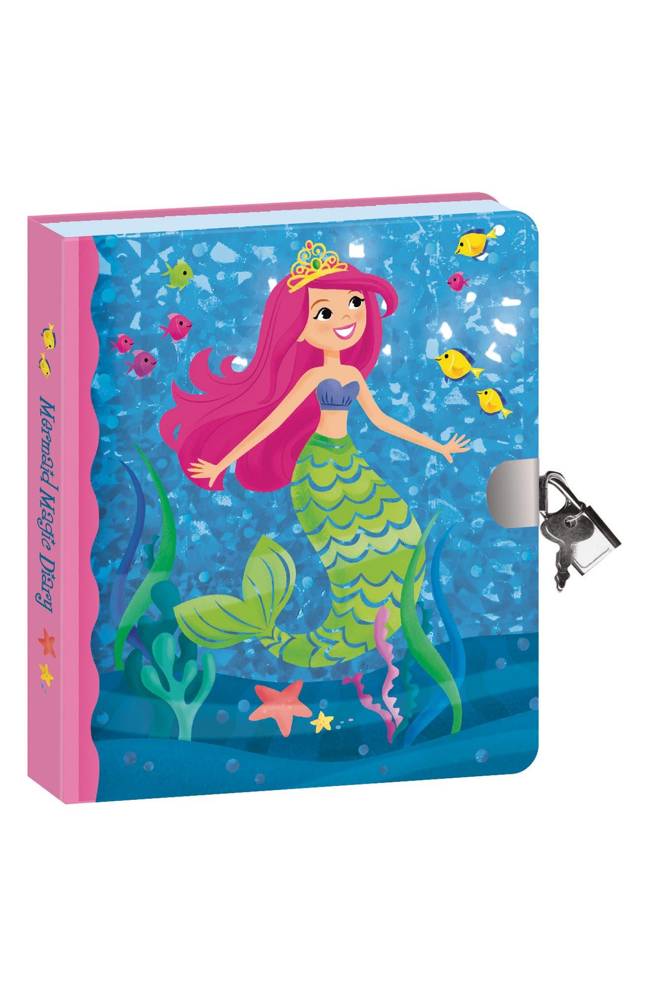 Peacable Kingdom Mermaid Magic Diary