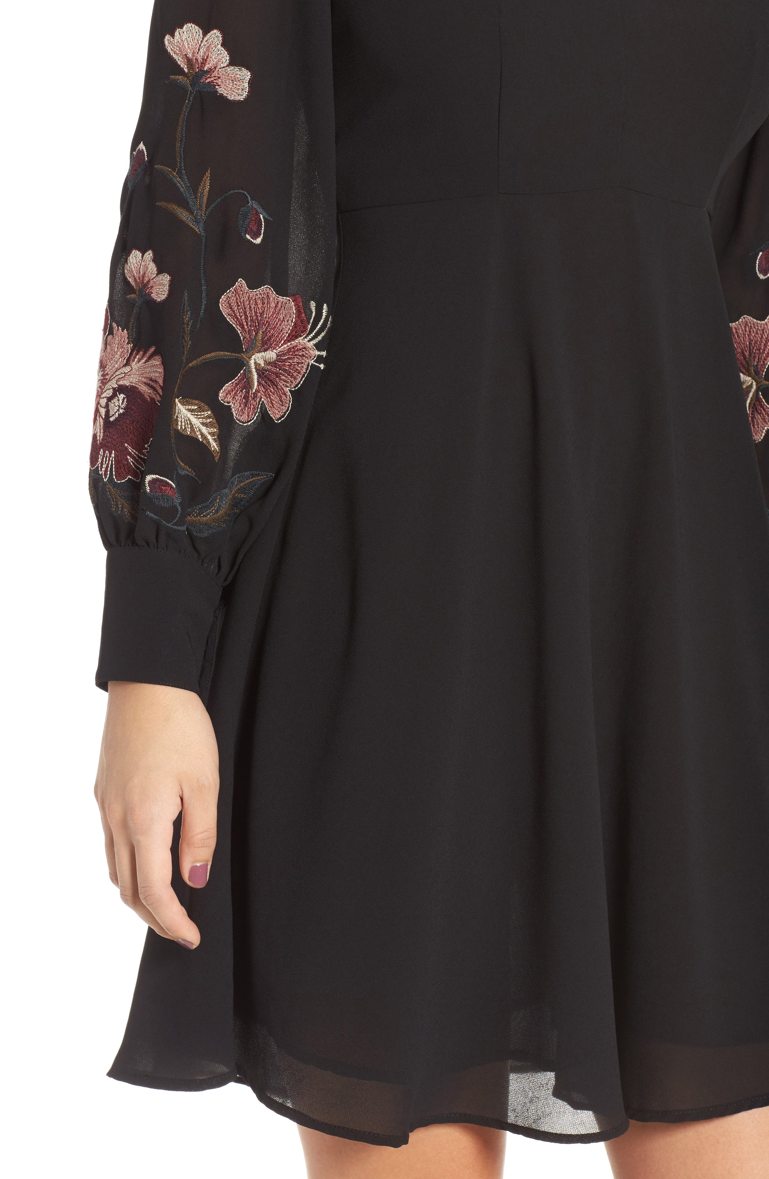 Alternate Image 6  - ASTR the Label Holly Fit & Flare Dress