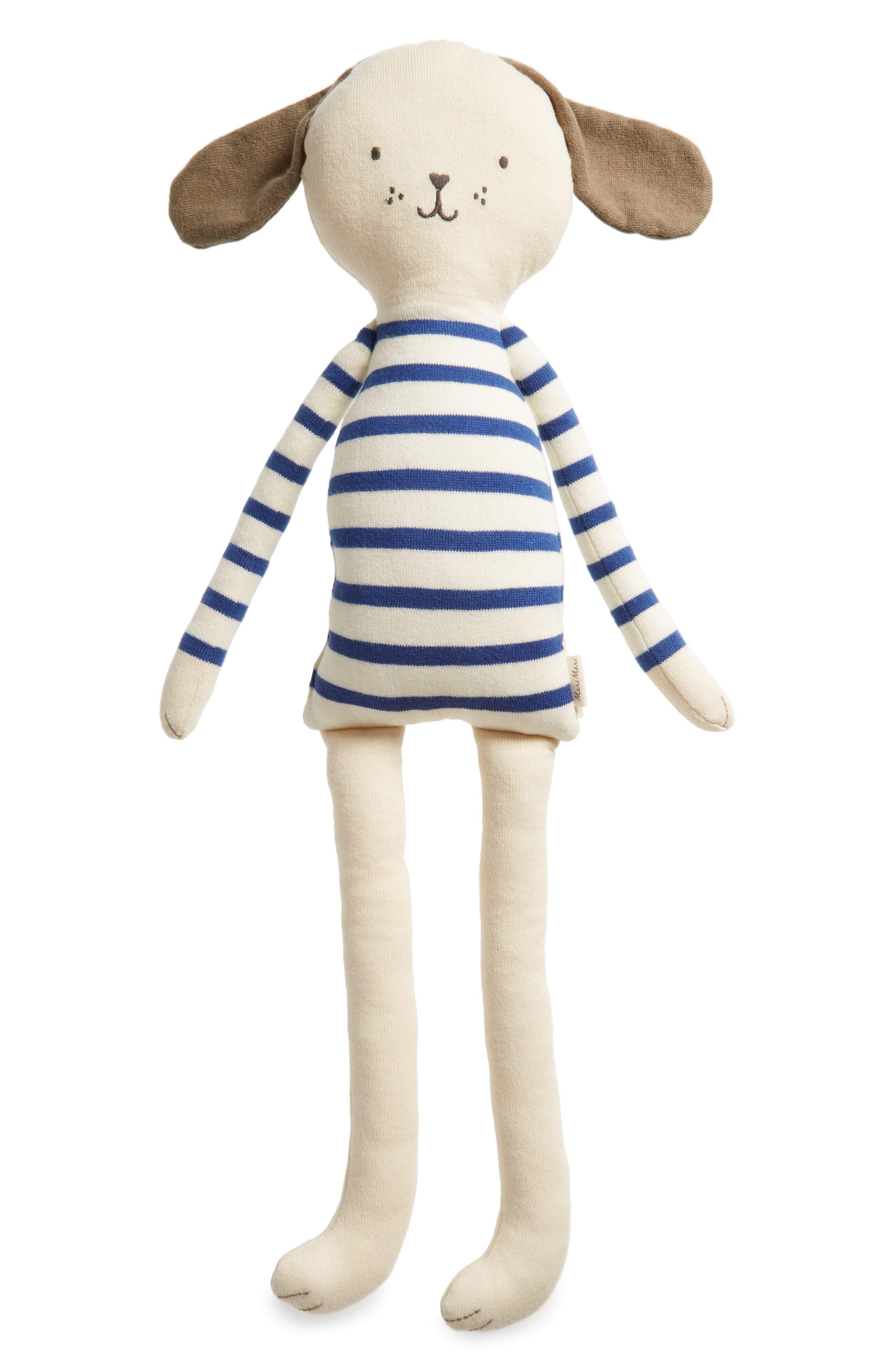 Main Image - Meri Meri Knit Organic Cotton Dog Cushion/Toy