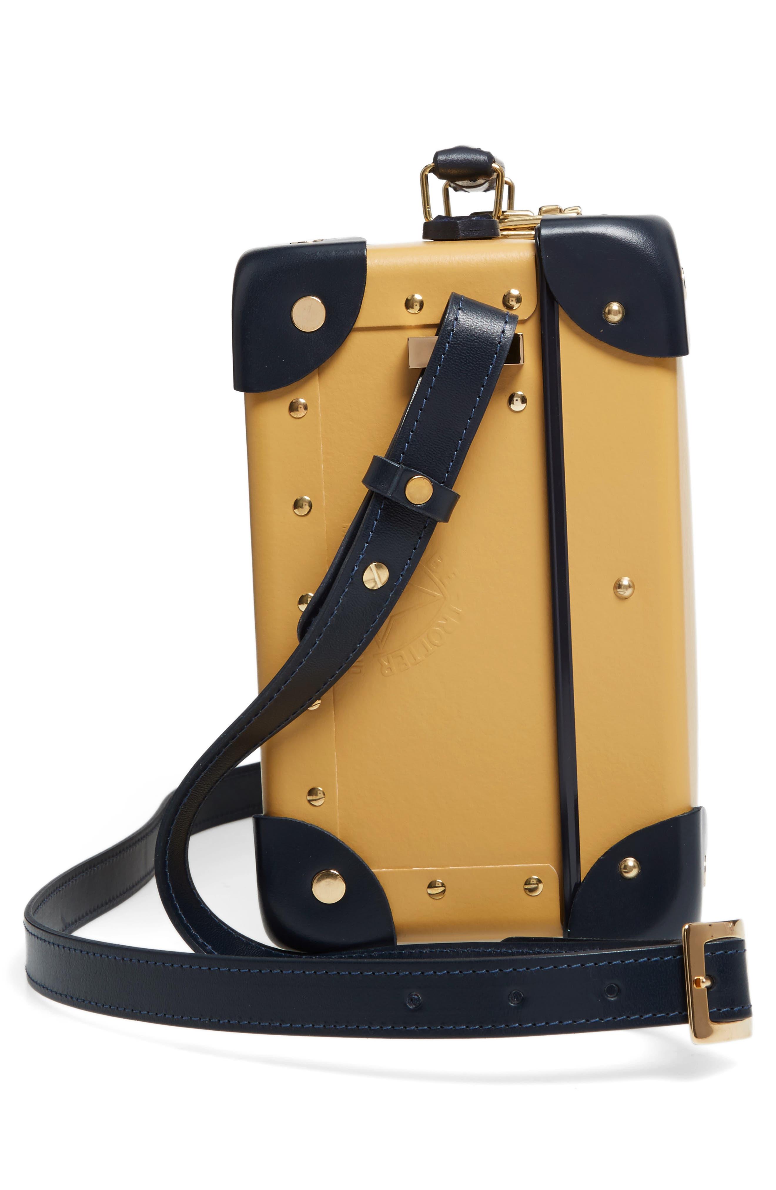 Mini Safari 9-Inch Utility Hardshell Travel Case,                             Alternate thumbnail 4, color,                             Mustard