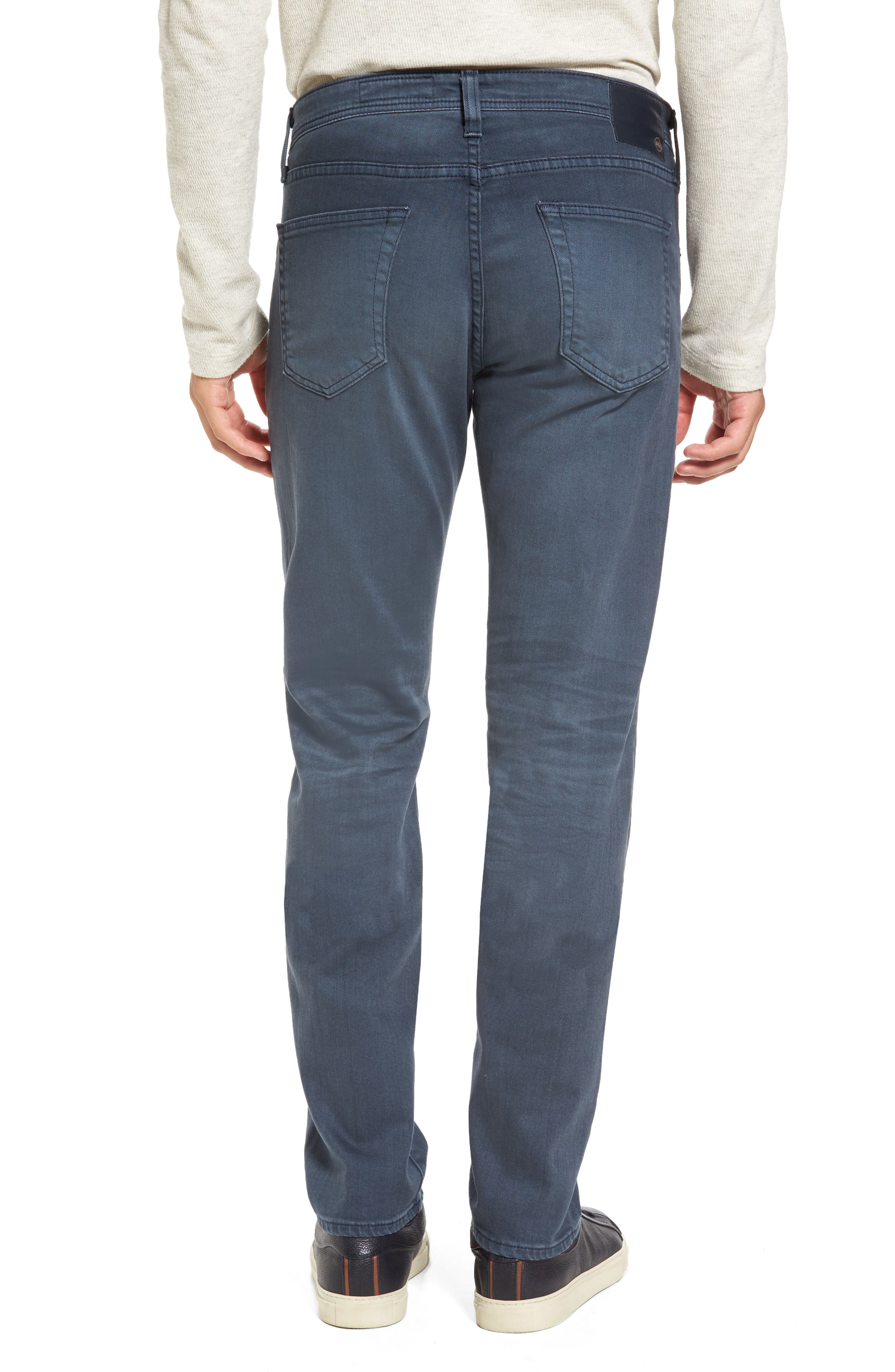 Alternate Image 2  - AG Tellis Slim Fit Jeans (2 Years Midnight Shadow)