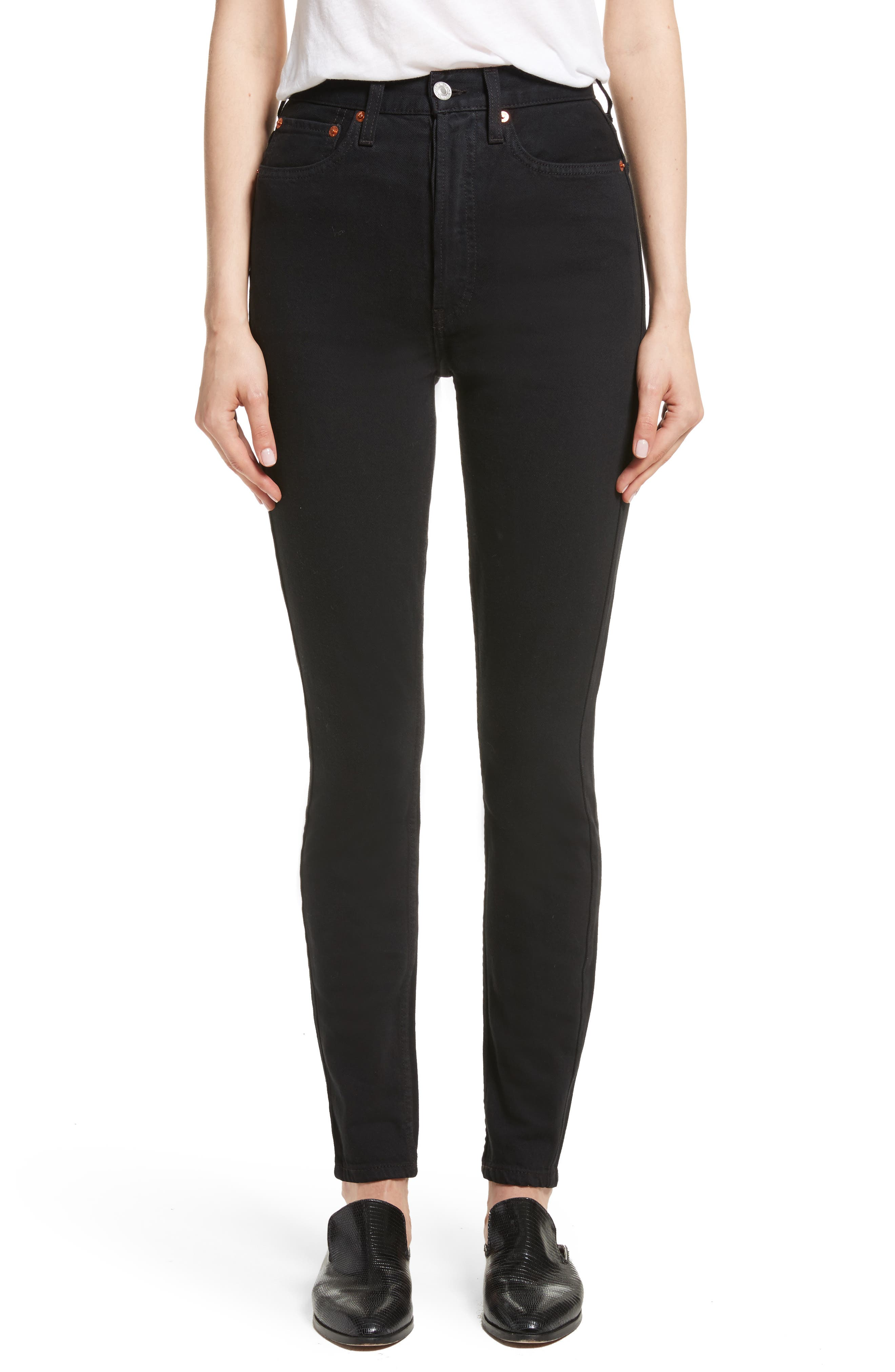 Re/Done Originals Ultra High Waist Skinny Jeans
