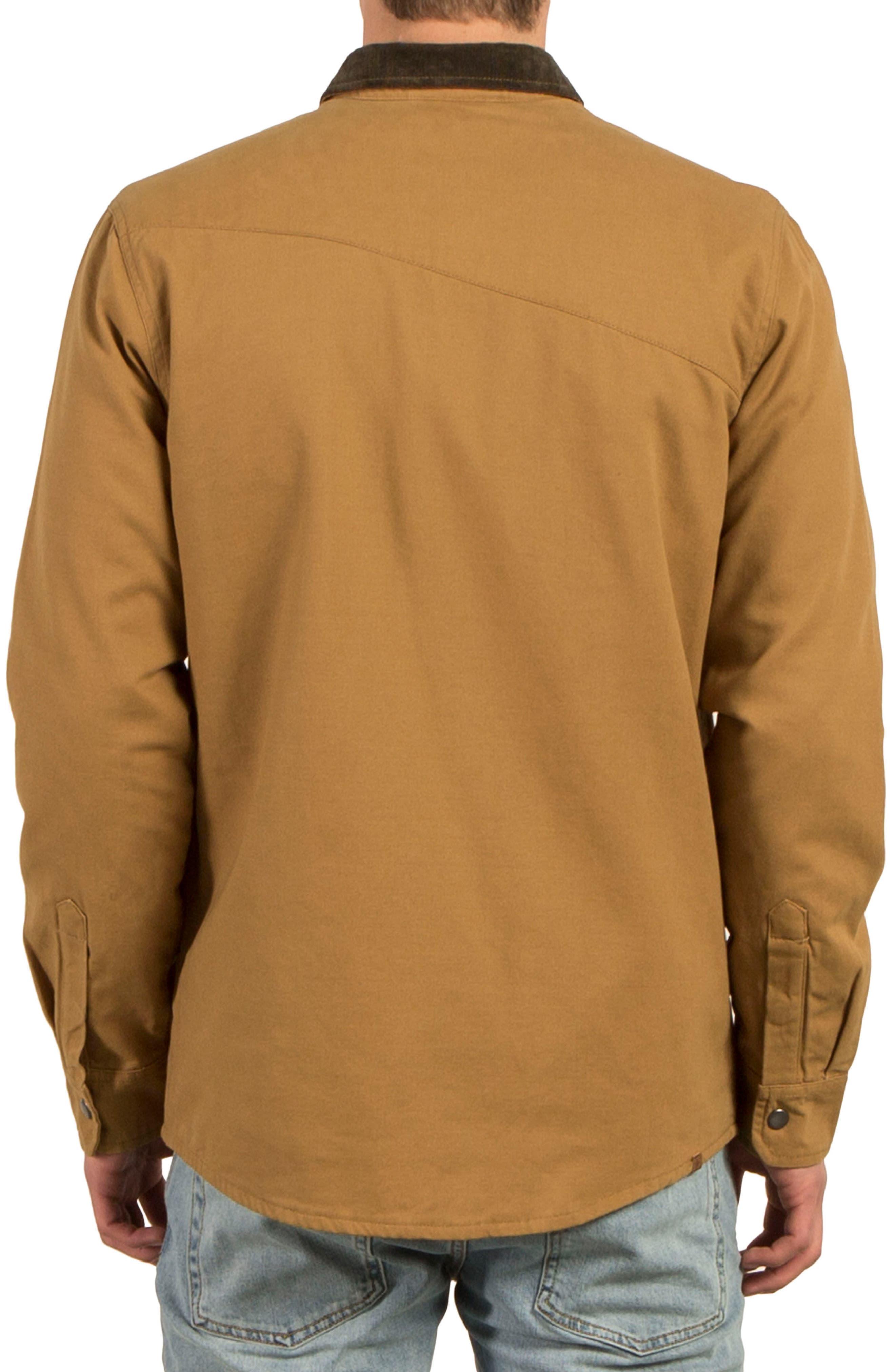 Alternate Image 2  - Volcom Larkin Classic Fit Jacket