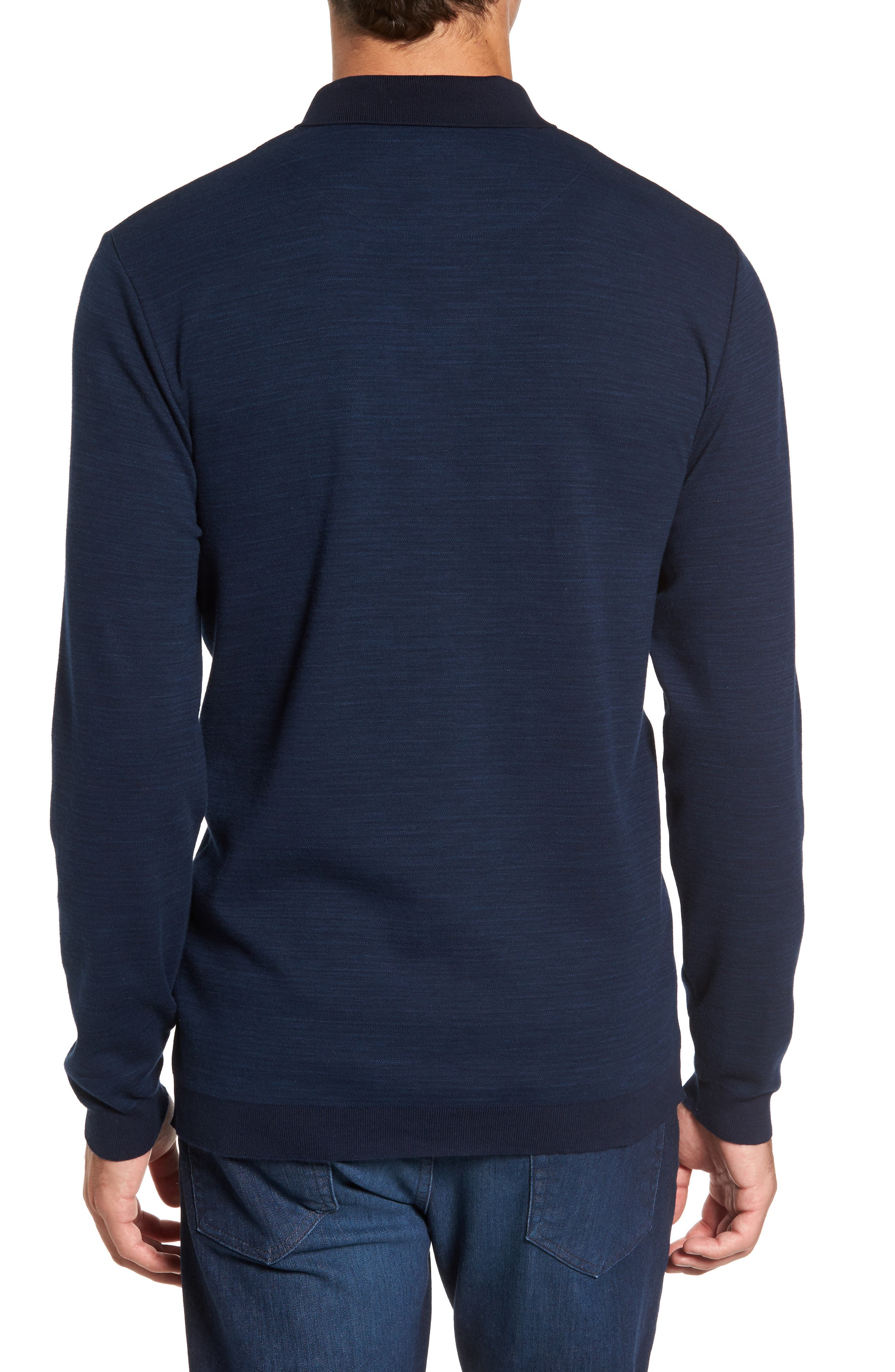Shelton Cotton Sweater,                             Alternate thumbnail 2, color,                             Ocean