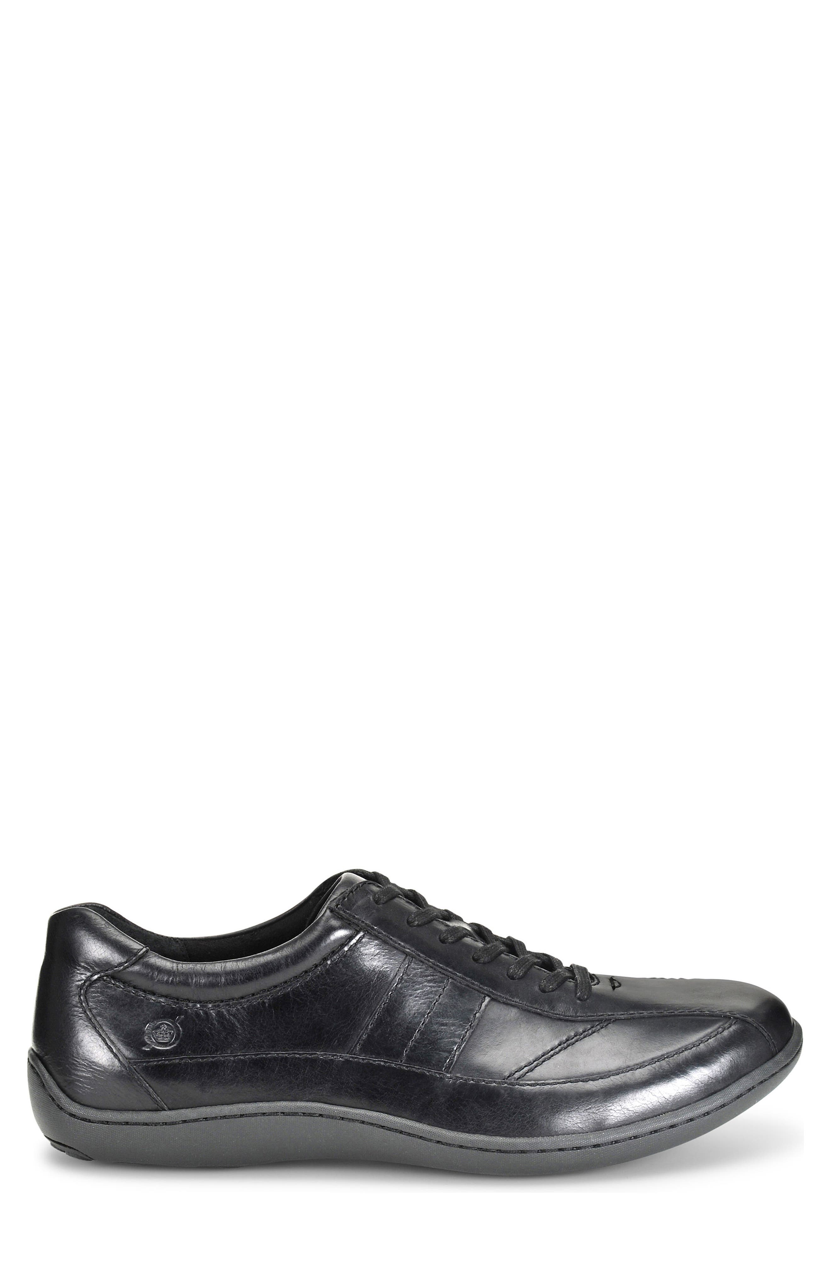 Breves Low Top Sneaker,                             Alternate thumbnail 3, color,                             Black