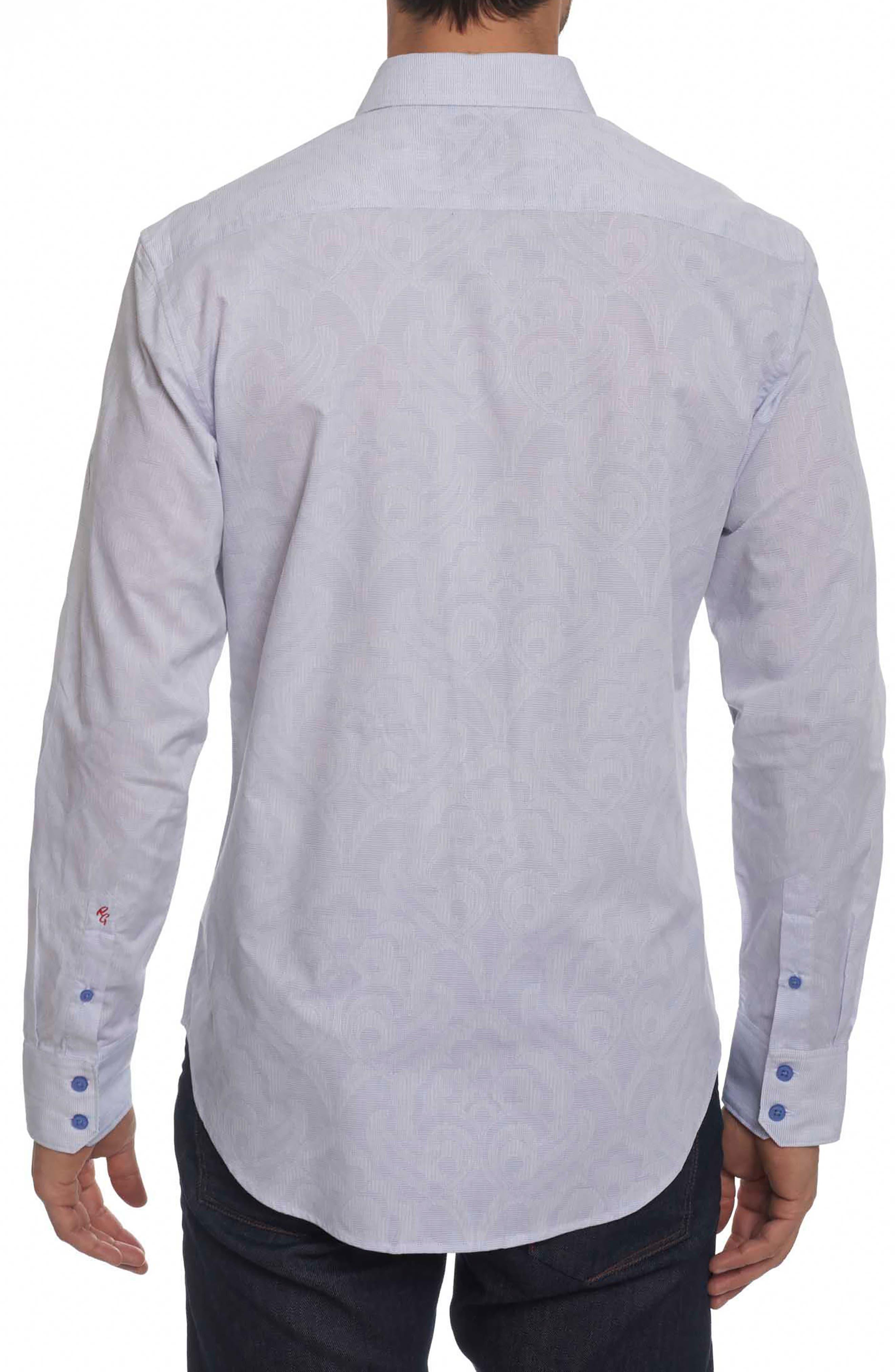 Alex Bay Classic Fit Sport Shirt,                             Alternate thumbnail 2, color,                             White