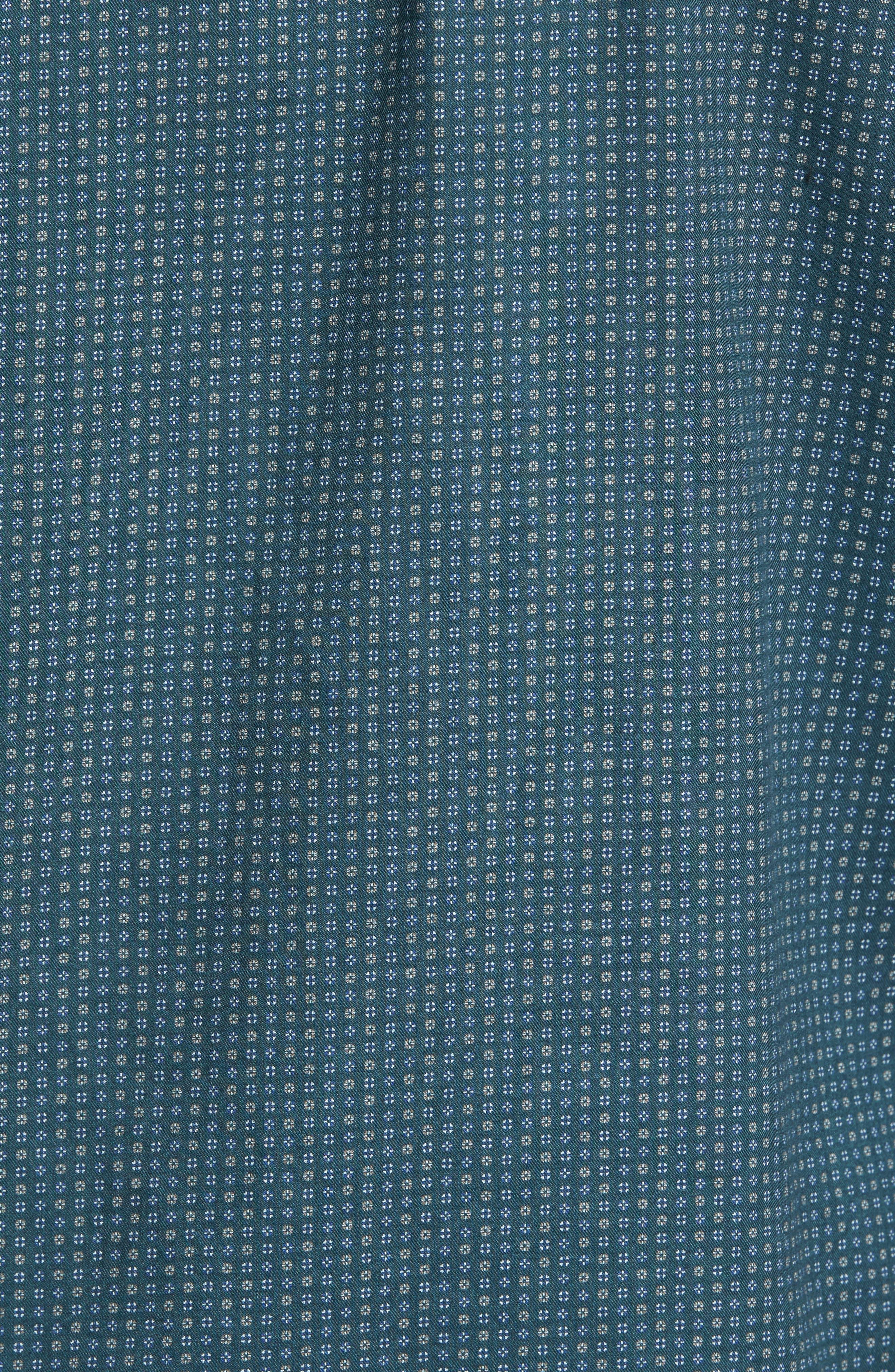 Alternate Image 5  - Rodd & Gunn Oreti Beach Sports Fit Floral Print Sport Shirt