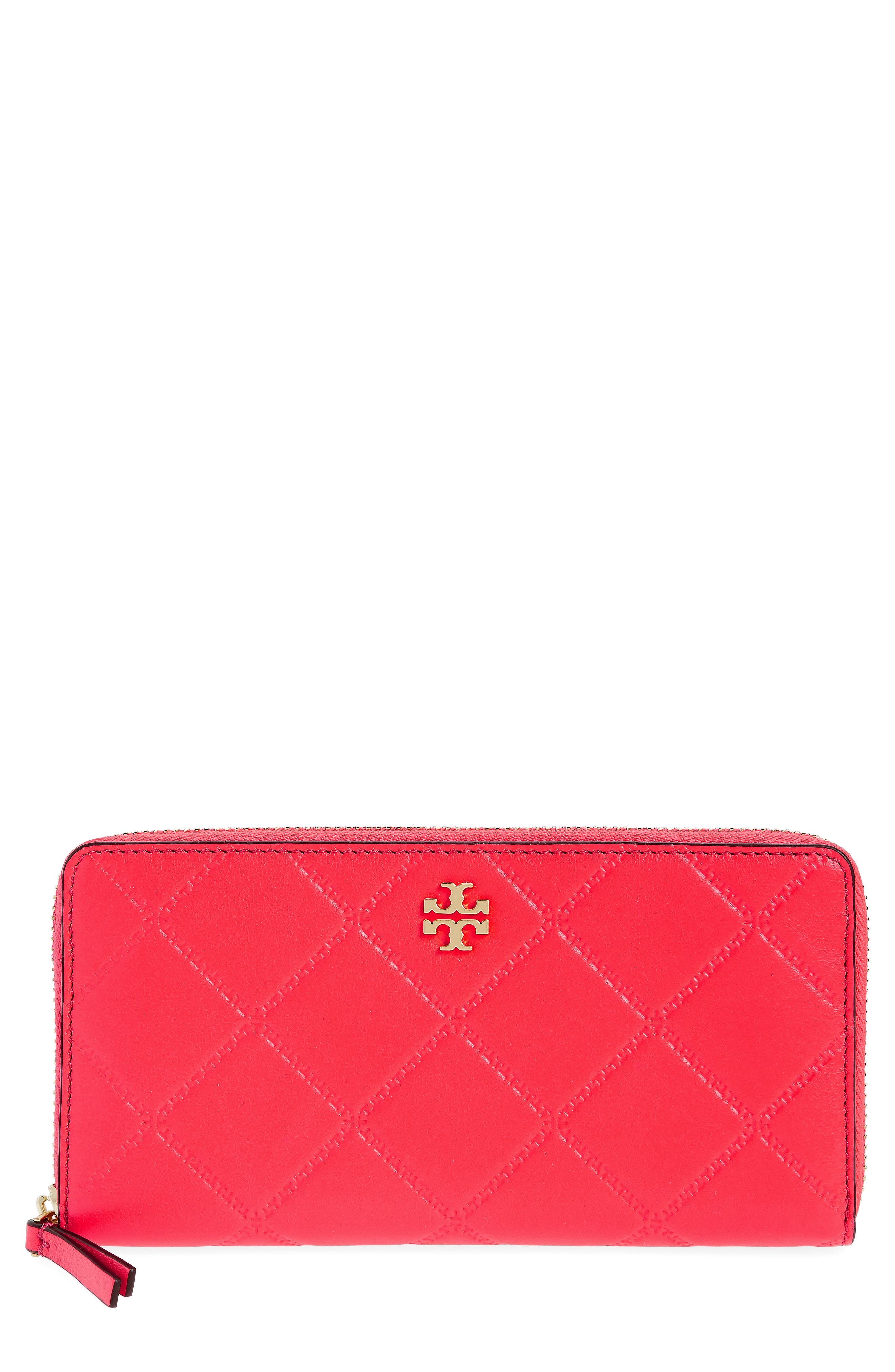 Tory Burch Monroe Leather Continental Wallet