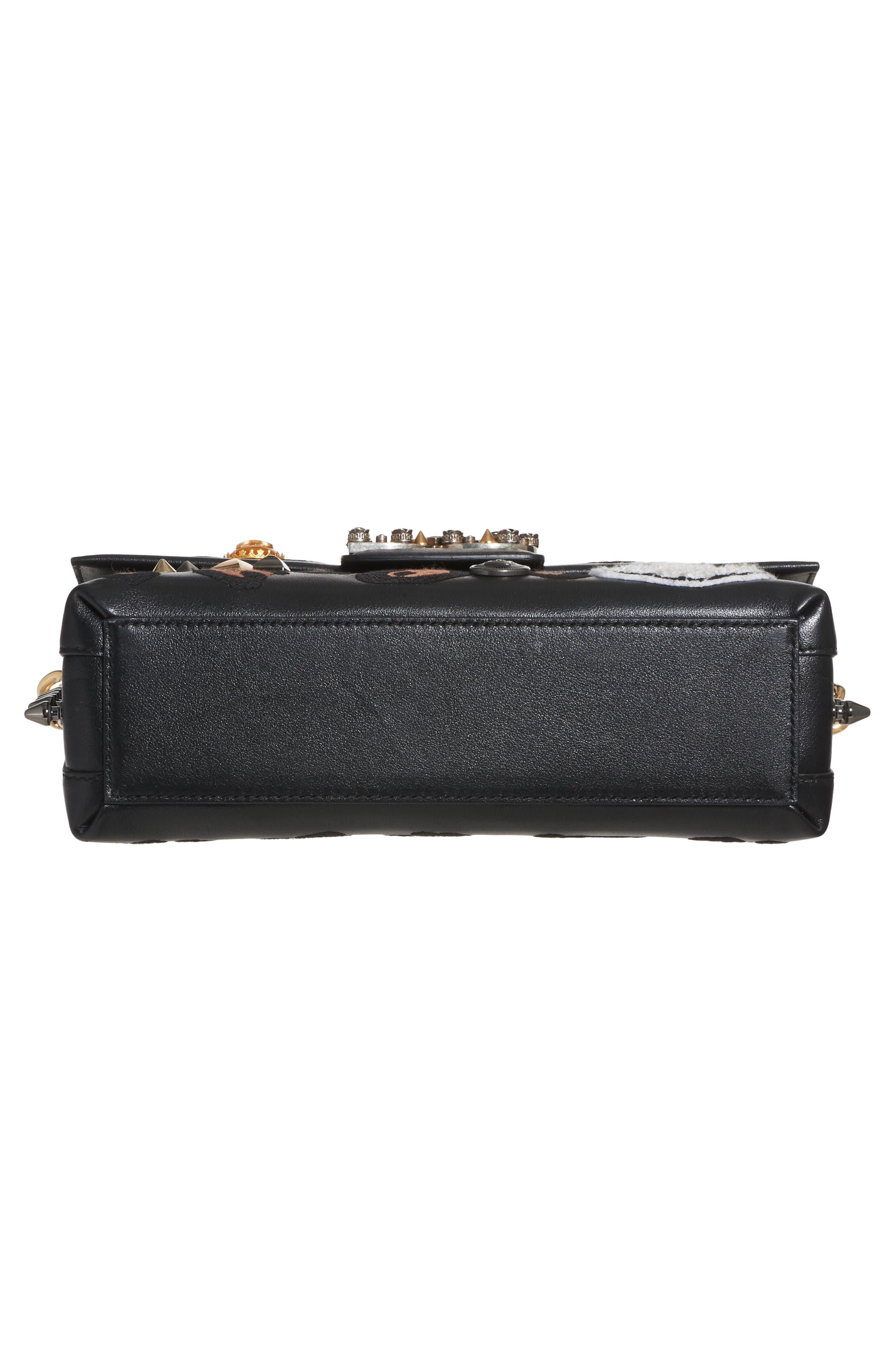 Alternate Image 5  - Dolce&Gabbana Millennials Embellished Leather Shoulder Bag