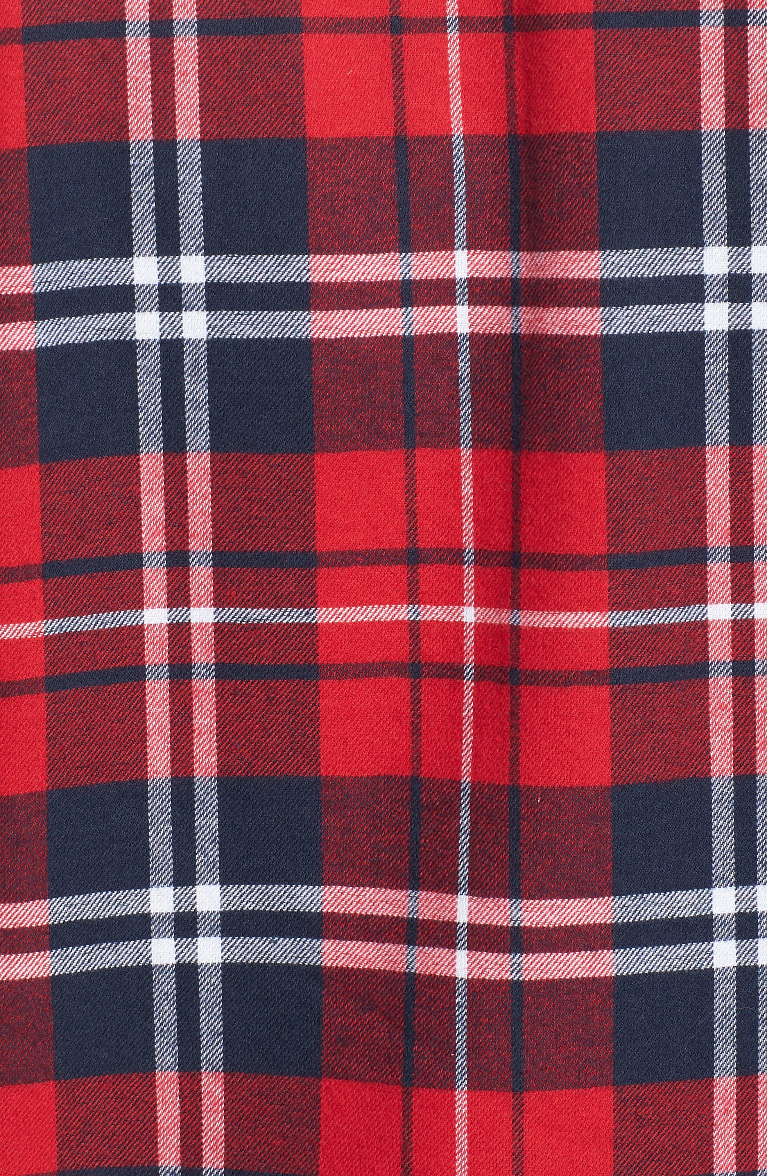 Alternate Image 5  - Barbour Hamilton Regular Fit Faux Fur Lined Shirt Jacket