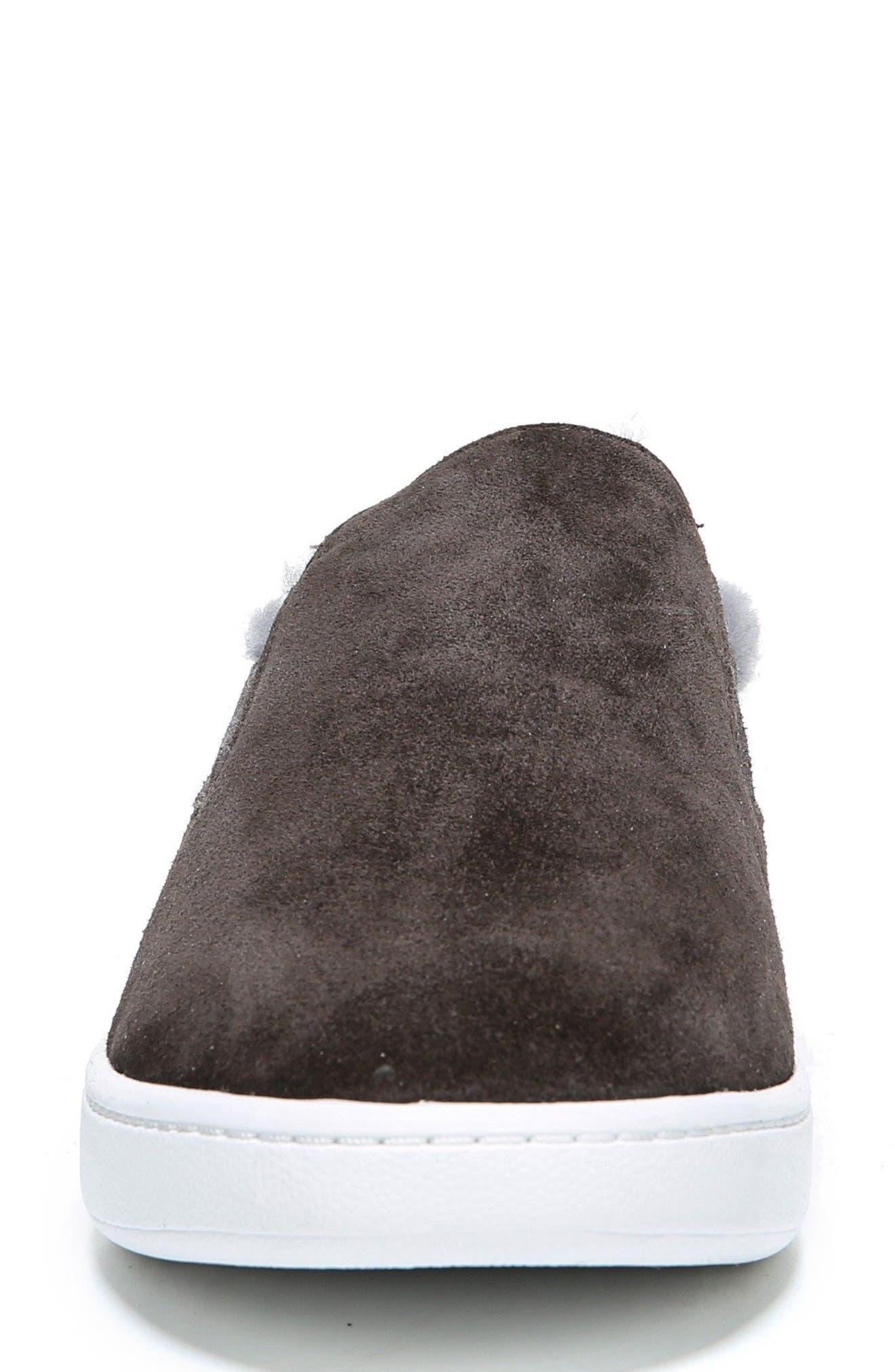 Alternate Image 4  - Vince Verrell Genuine Shearling Slip-On Sneaker (Women)