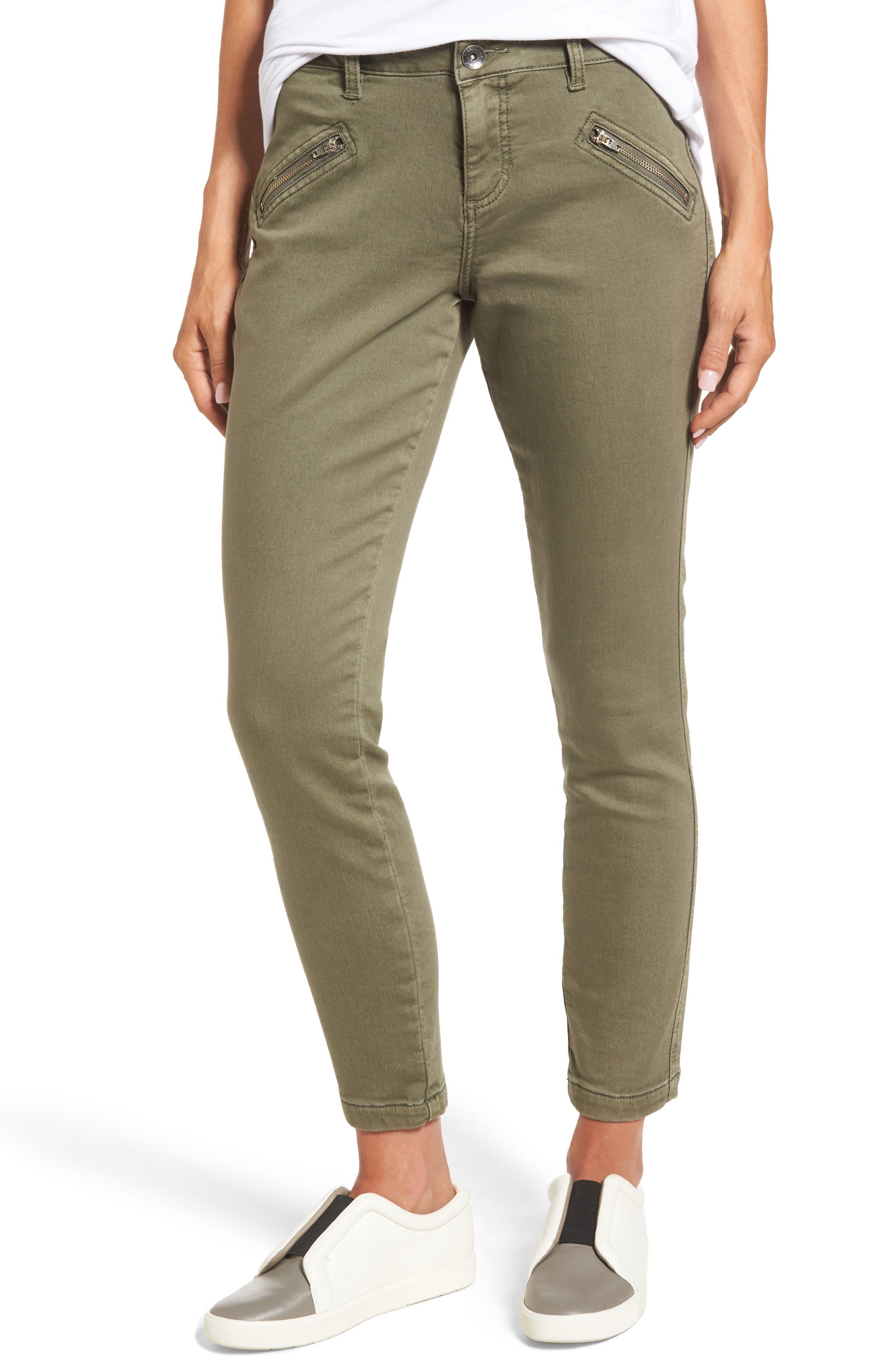 Jag Jeans Ryan Knit Skinny Jeans (Silver Pine)