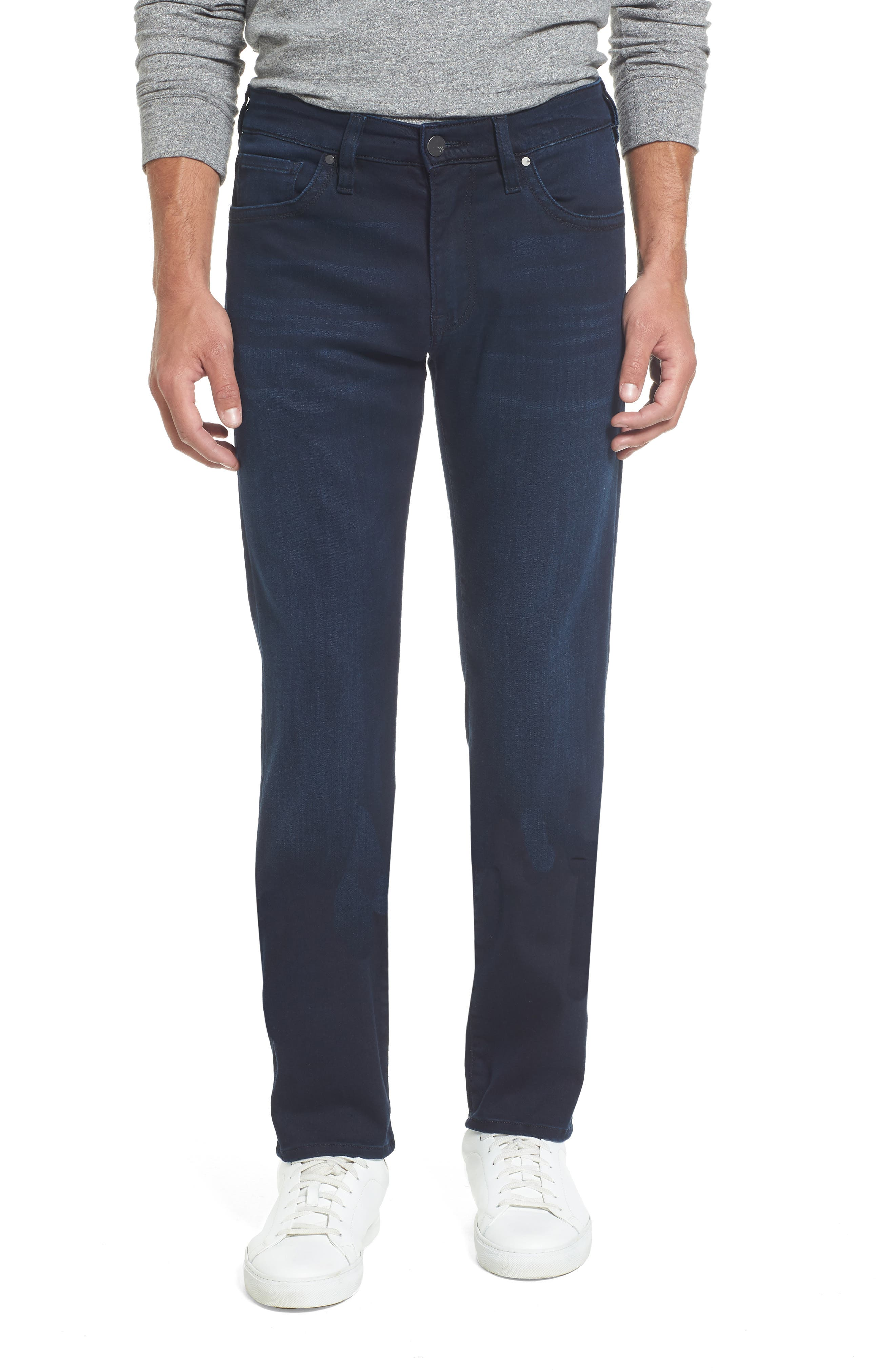 Courage Straight Fit Jeans,                             Main thumbnail 1, color,                             Ink Rome