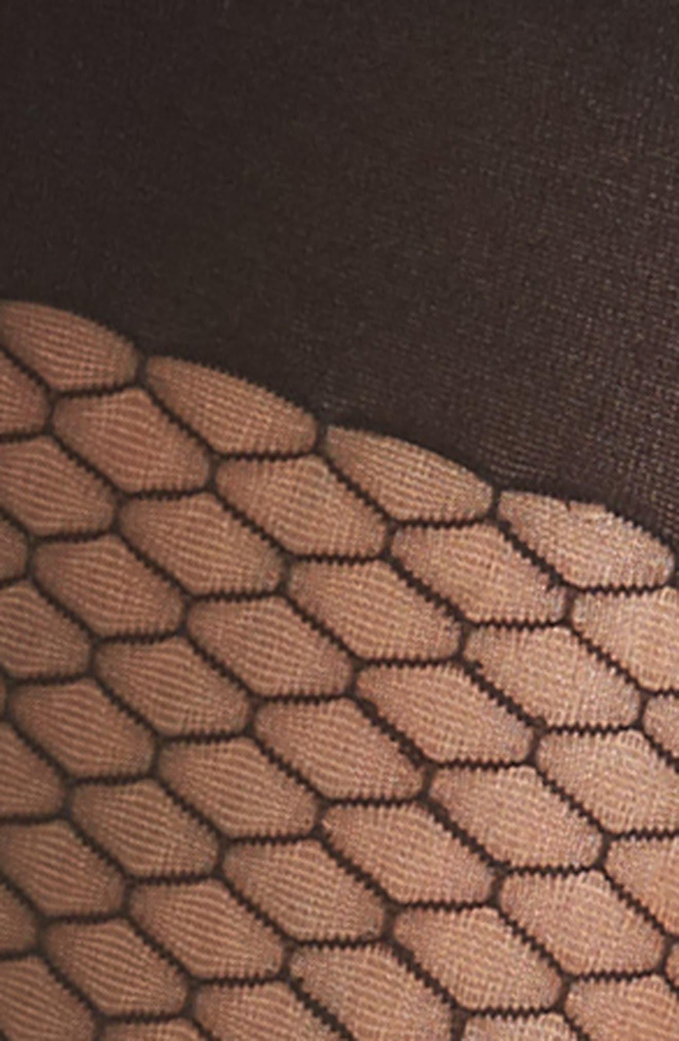 Alternate Image 2  - SPANX® Honeycomb Shaper Tights