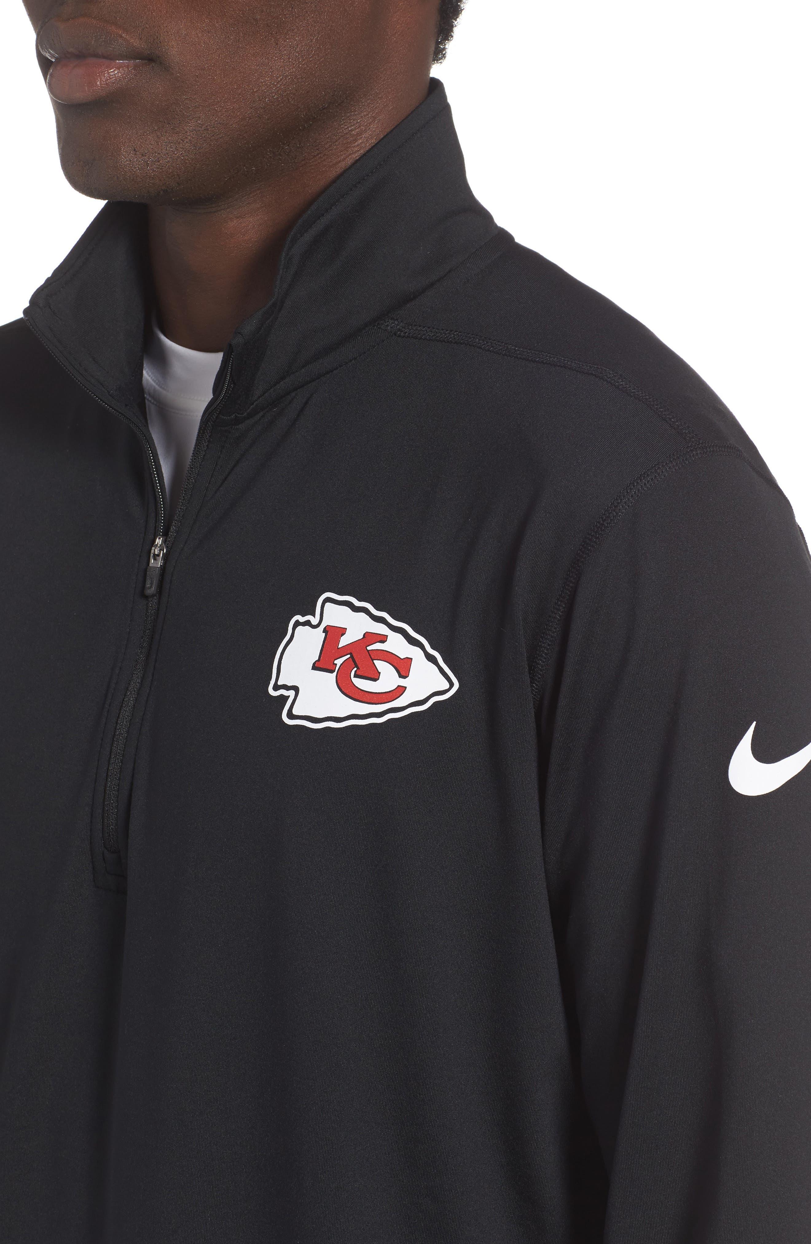 Alternate Image 4  - Nike NFL Team Element Quarter Zip Pullover