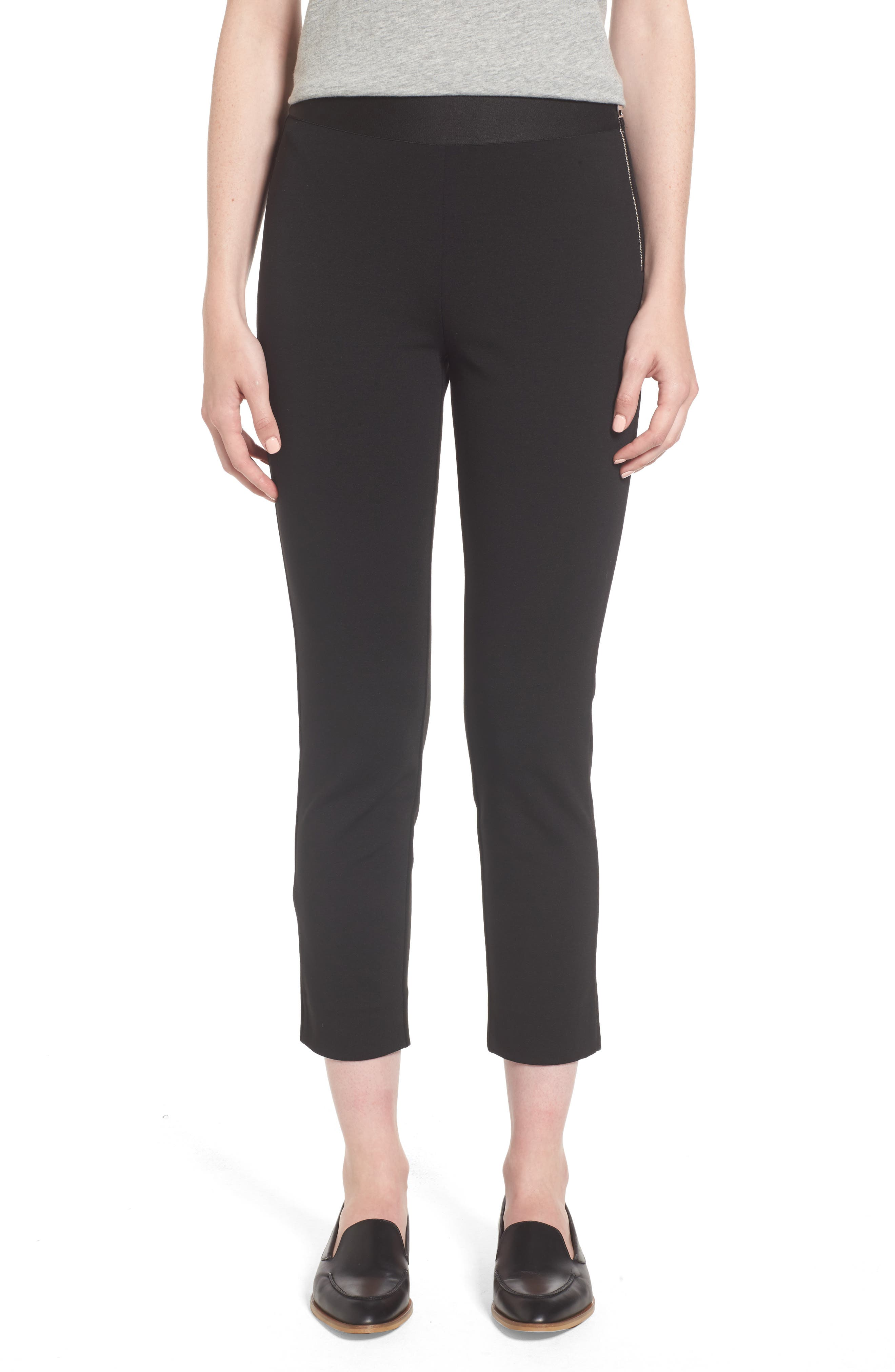 Alternate Image 1 Selected - Everlane The Stretch Ponte Crop Pants