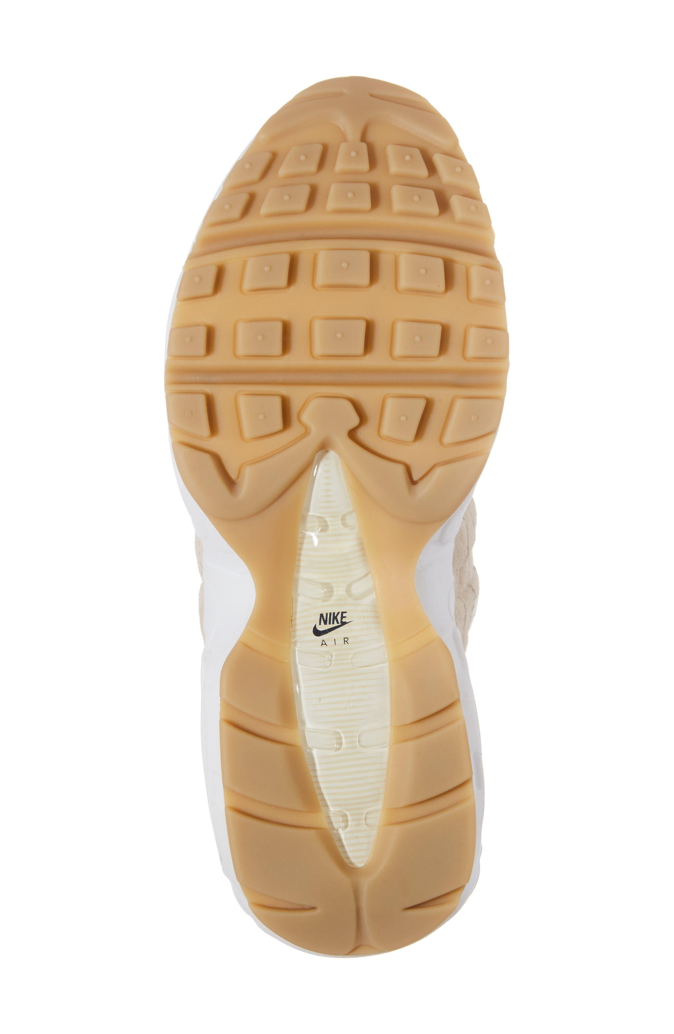 Air Max 95 SD Sneaker,                             Alternate thumbnail 6, color,                             Oatmeal/ White