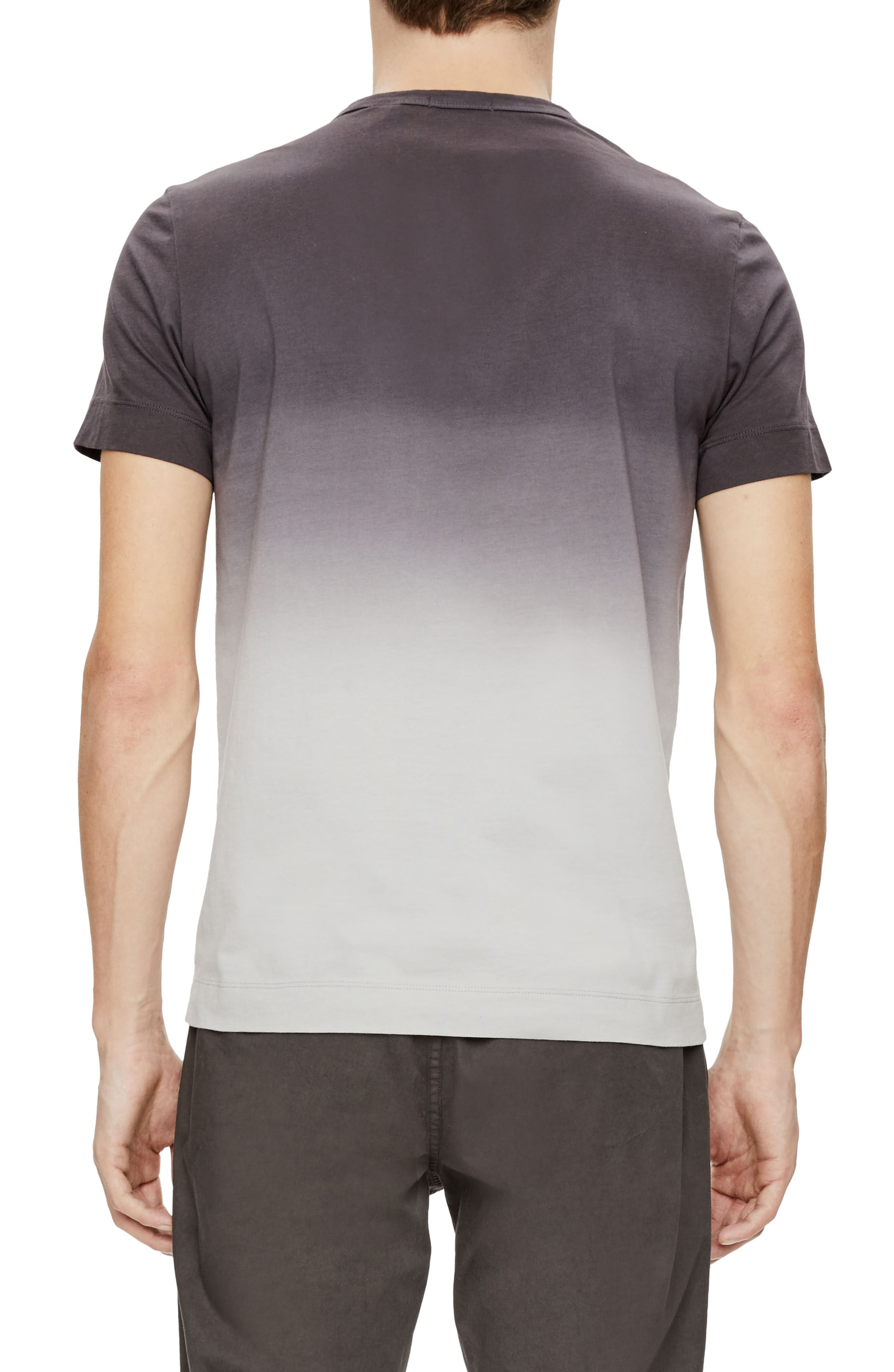 Alternate Image 2  - Theory Gaskell Dip Dye Ombré T-Shirt