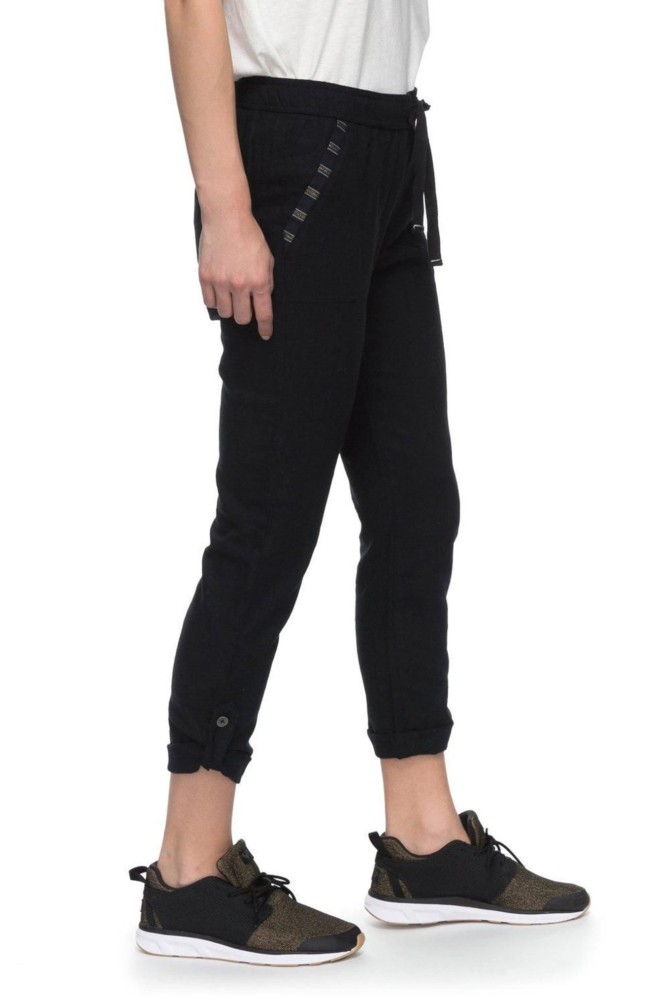 Alternate Image 3  - Roxy Symphony Lover Linen Blend Pants
