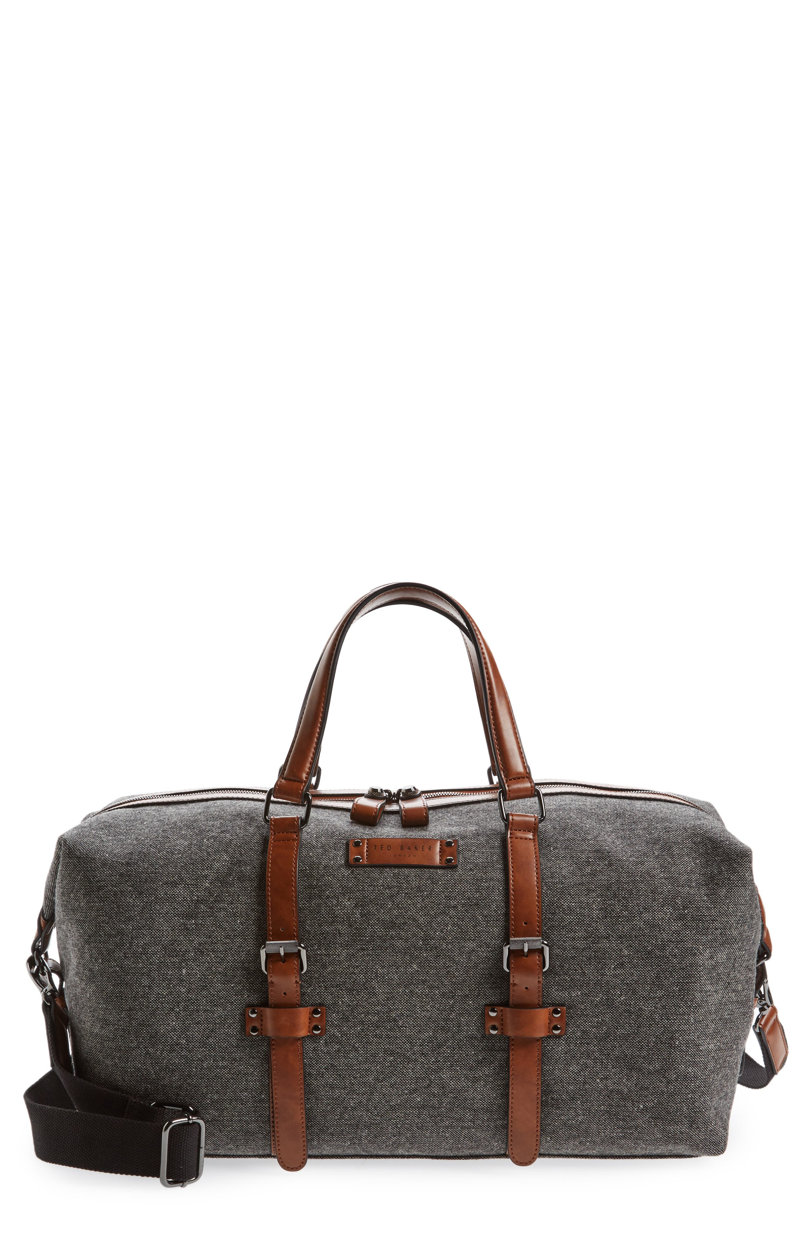 Ted Baker London Tailor Wool Duffel Bag