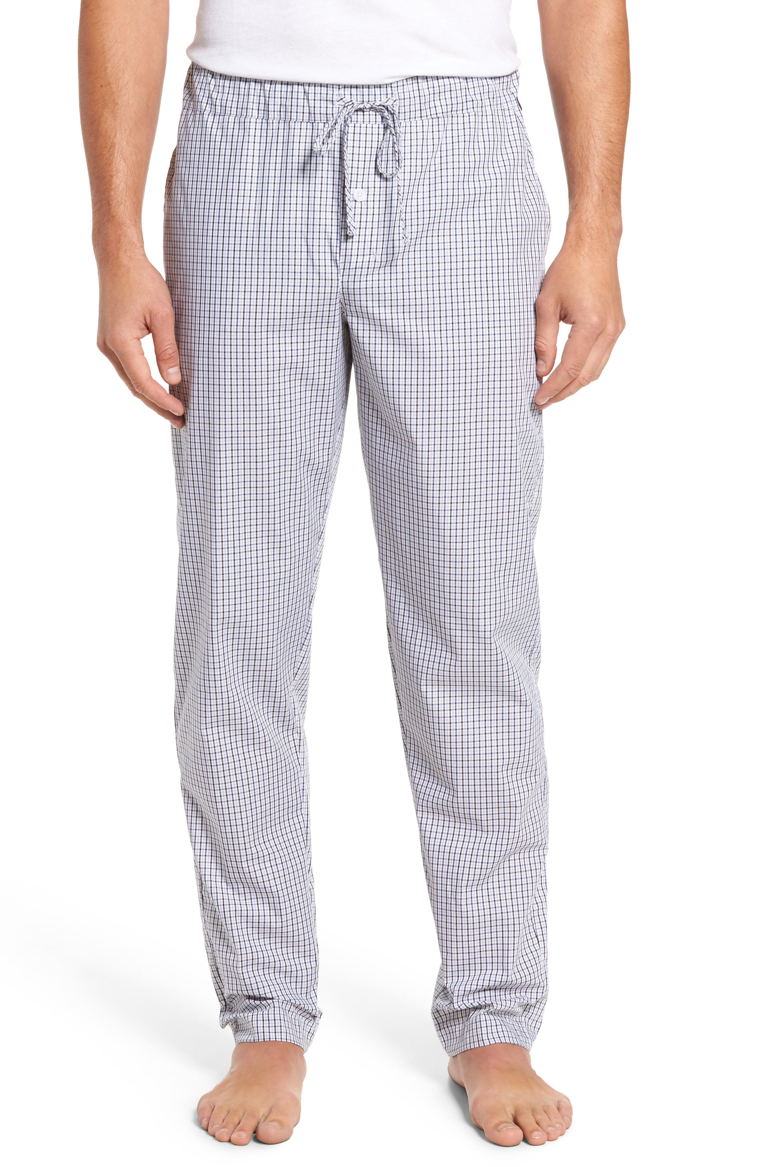 Alternate Image 1 Selected - Hanro Night & Day Woven Lounge Pants