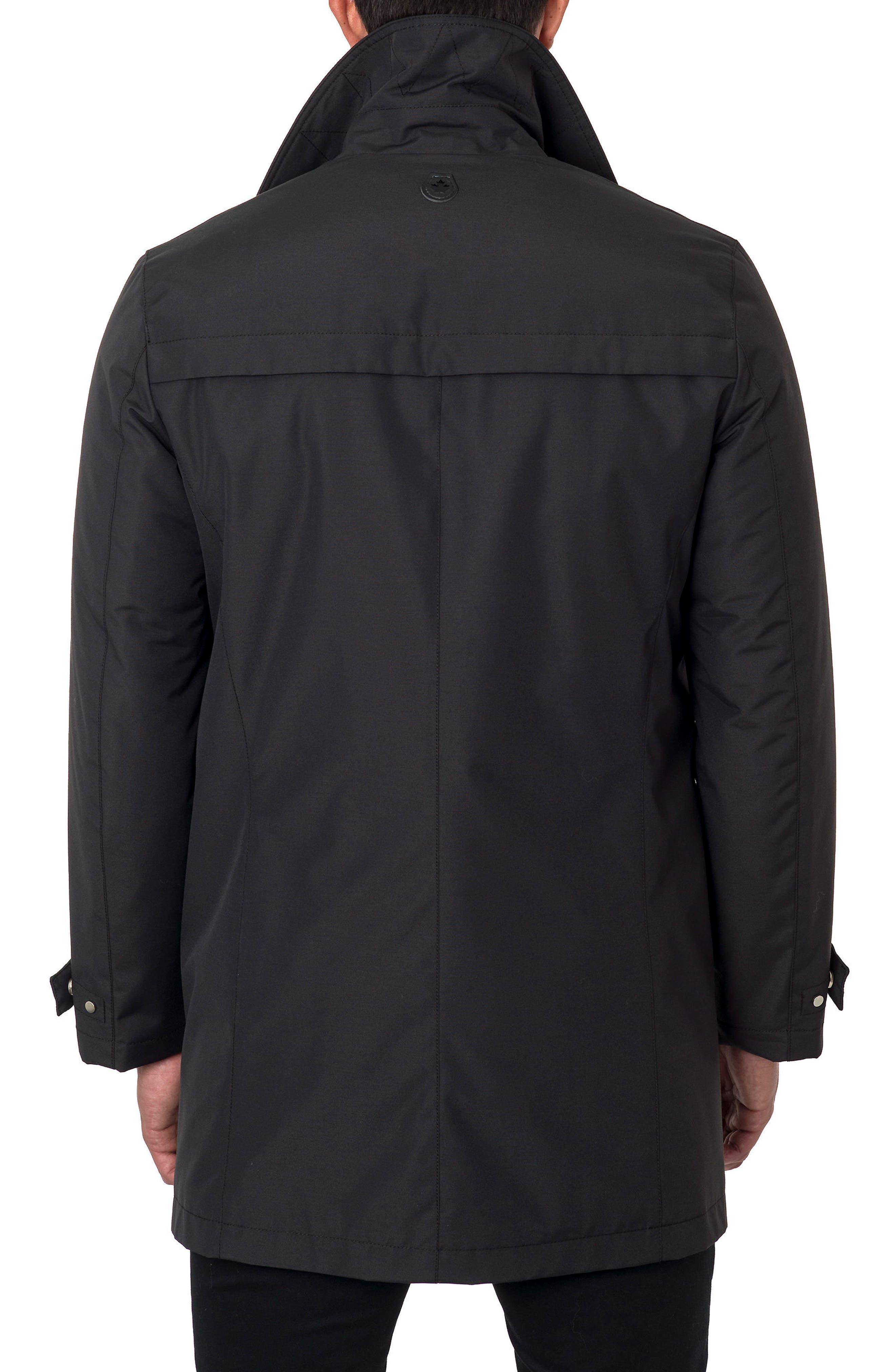 Water Repellent Jacket,                             Alternate thumbnail 2, color,                             Black Cotton Tek
