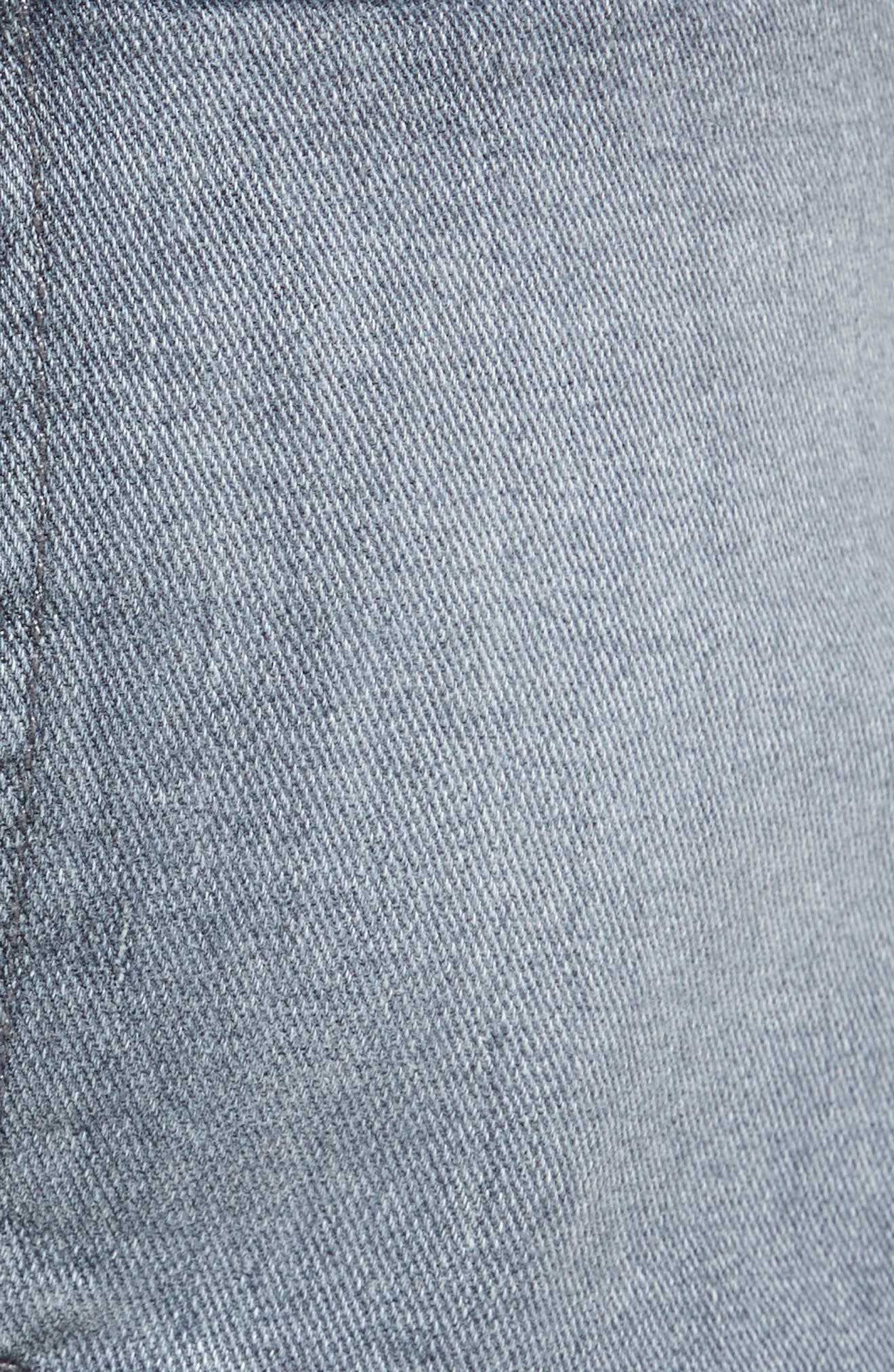 Alternate Image 5  - Joe's Brixton Distressed Slim Straight Fit Jeans (Frehley)