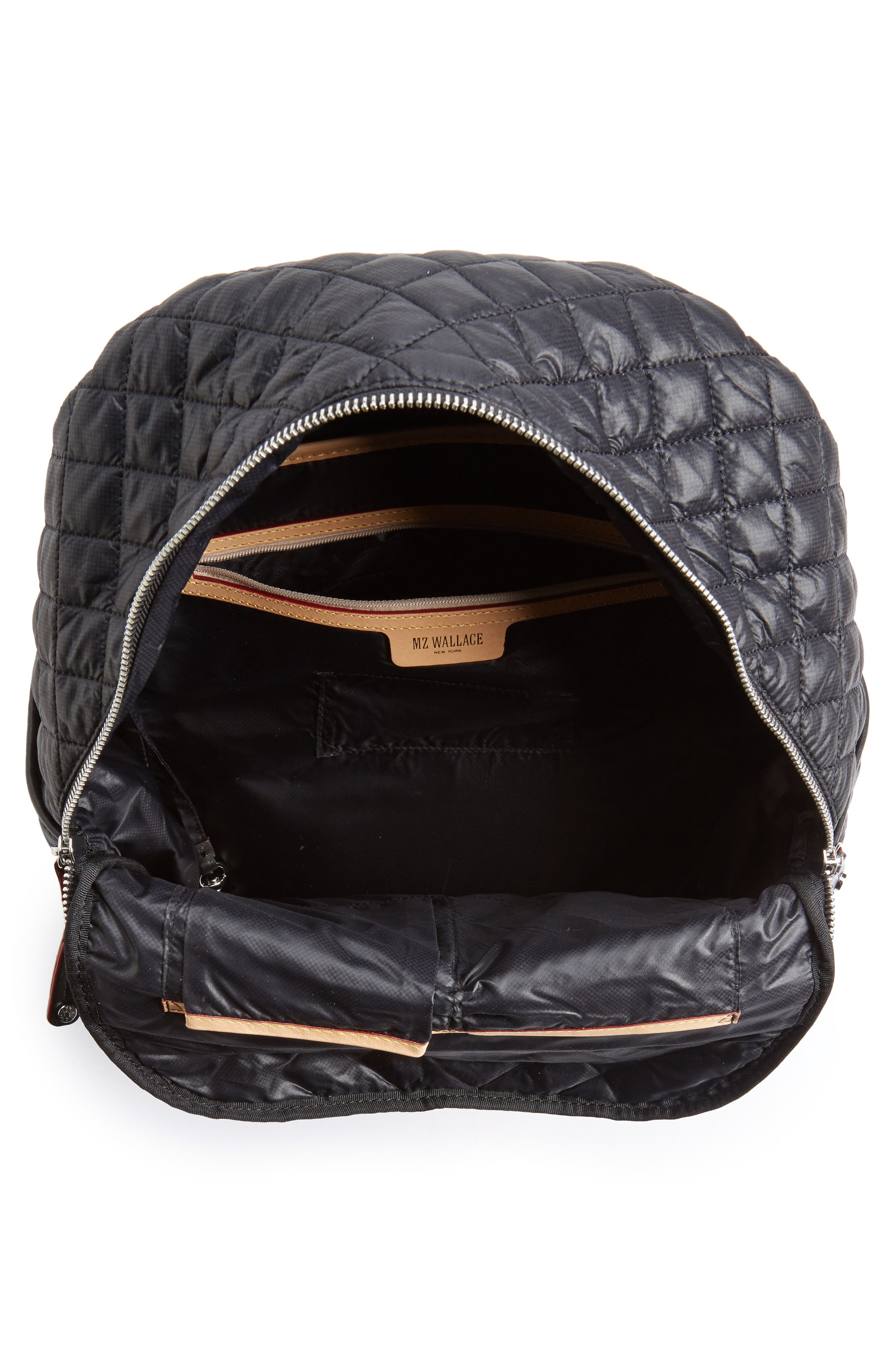 Alternate Image 4  - MZ Wallace Crosby Quilted Oxford Nylon Backpack